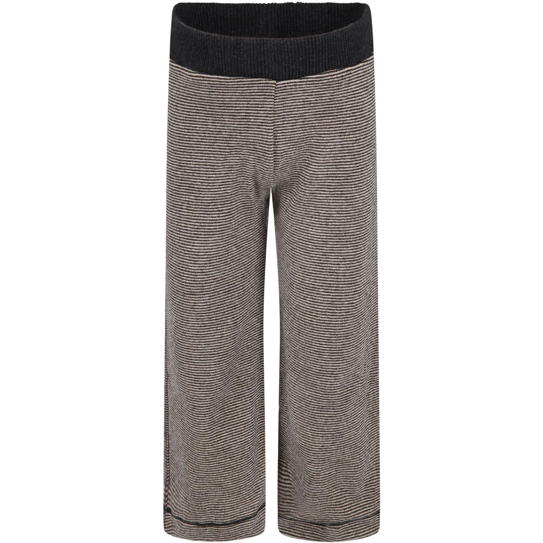 Caffe dOrzo Multicolor denise Trousers For Girl