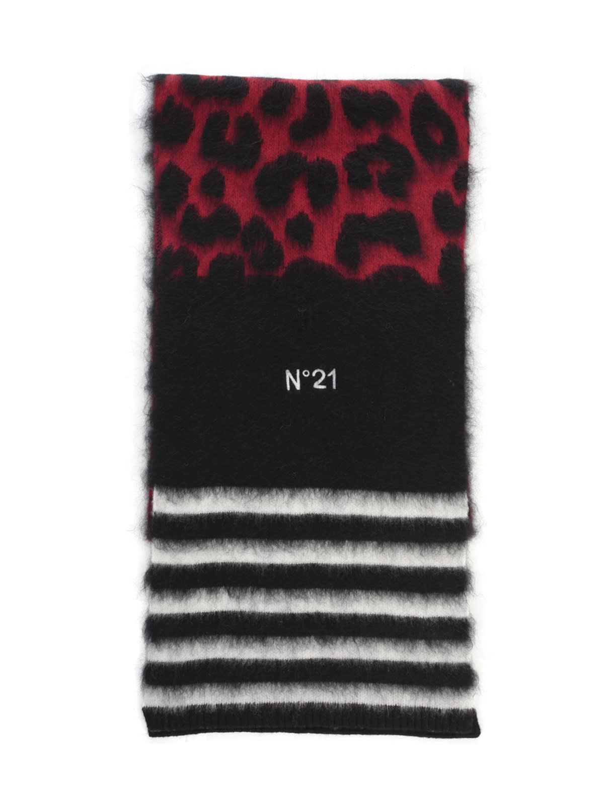 N°21 MIX & MATCH MATERIALS SCARF