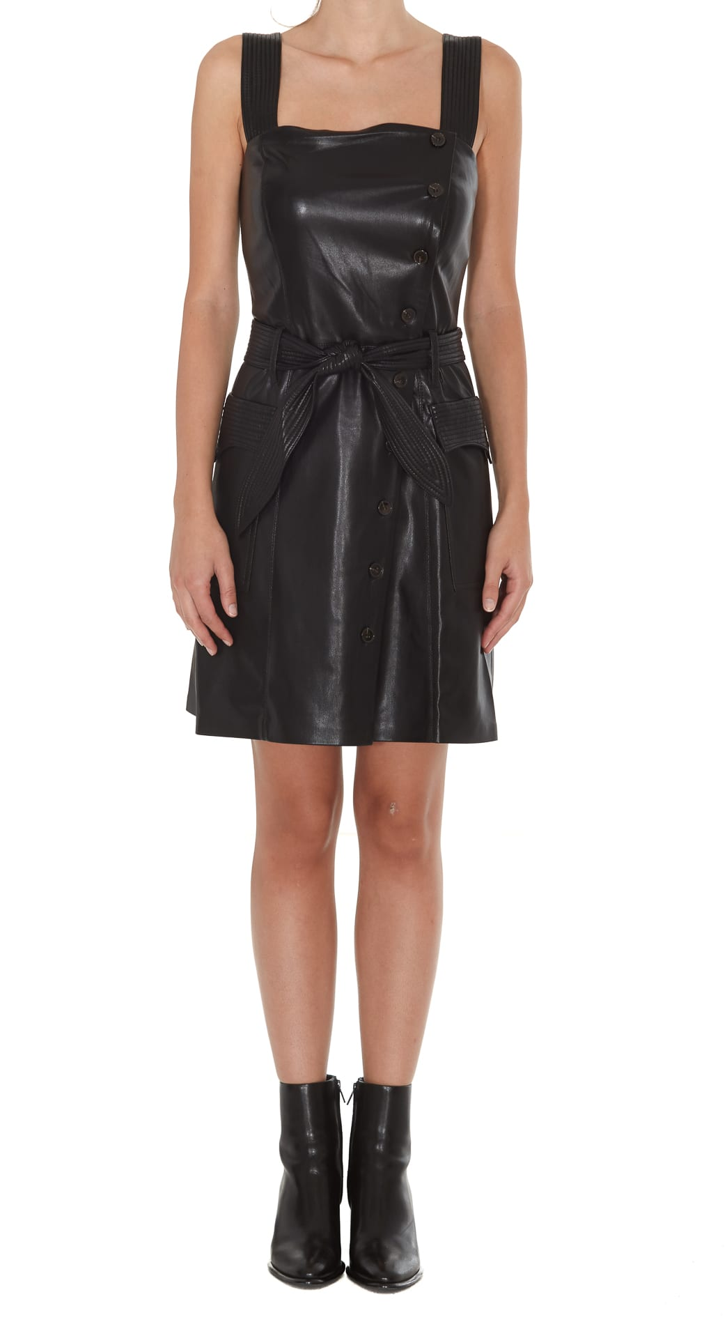 Nanushka Charo Vegan Leather Dress