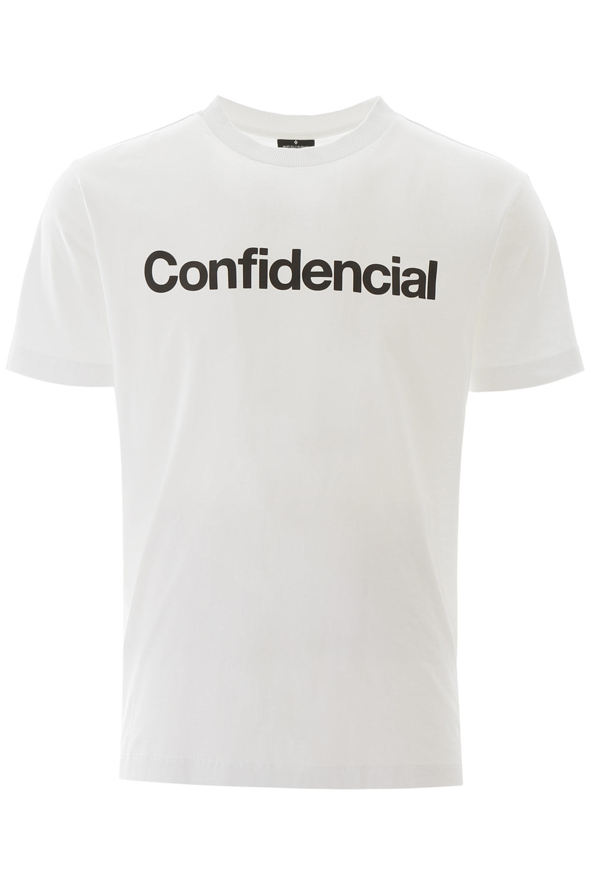Marcelo Burlon Confidencial Print T-shirt