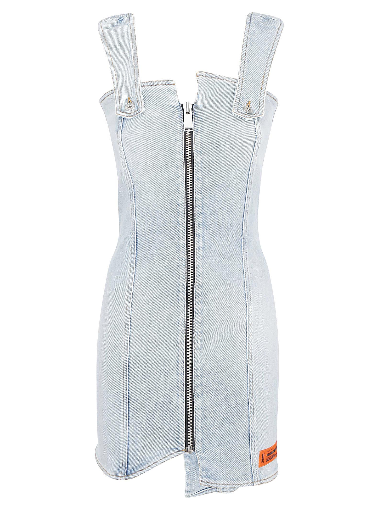Buy Heron Preston Denim Dress online, shop HERON PRESTON with free shipping