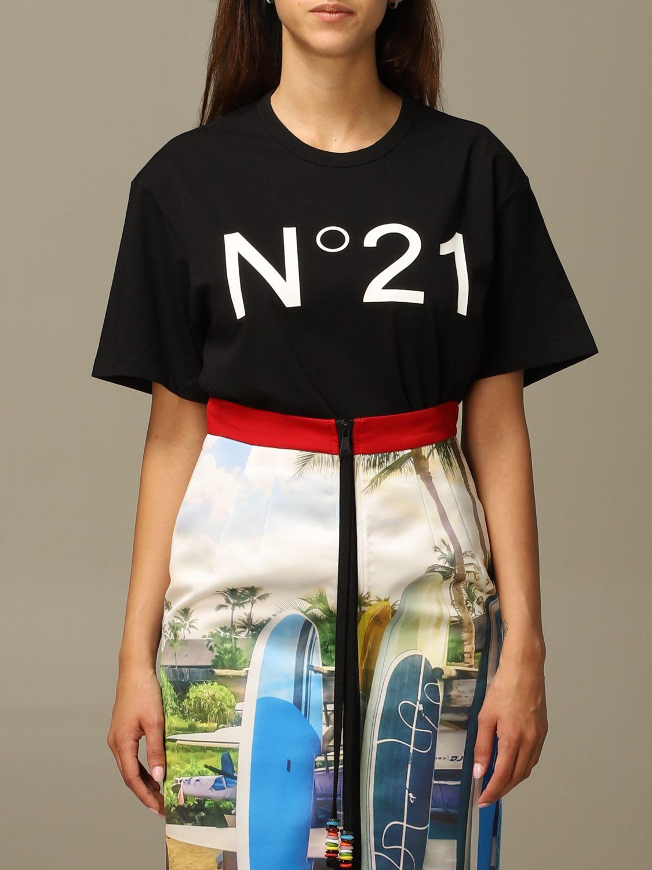 N°21 N° 21 T-SHIRT T-SHIRT WOMEN N° 21
