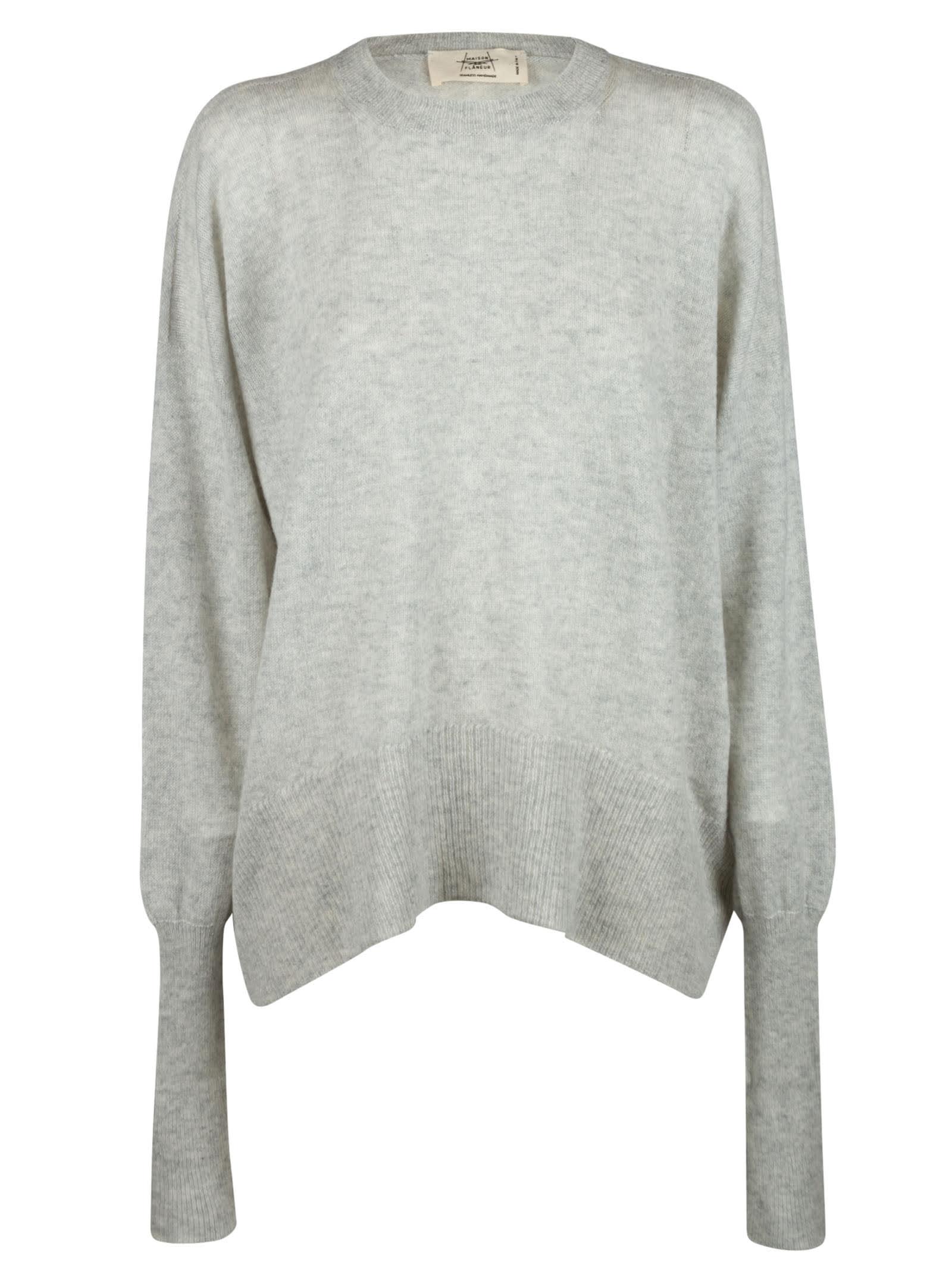 Loose Fit Plain Sweater