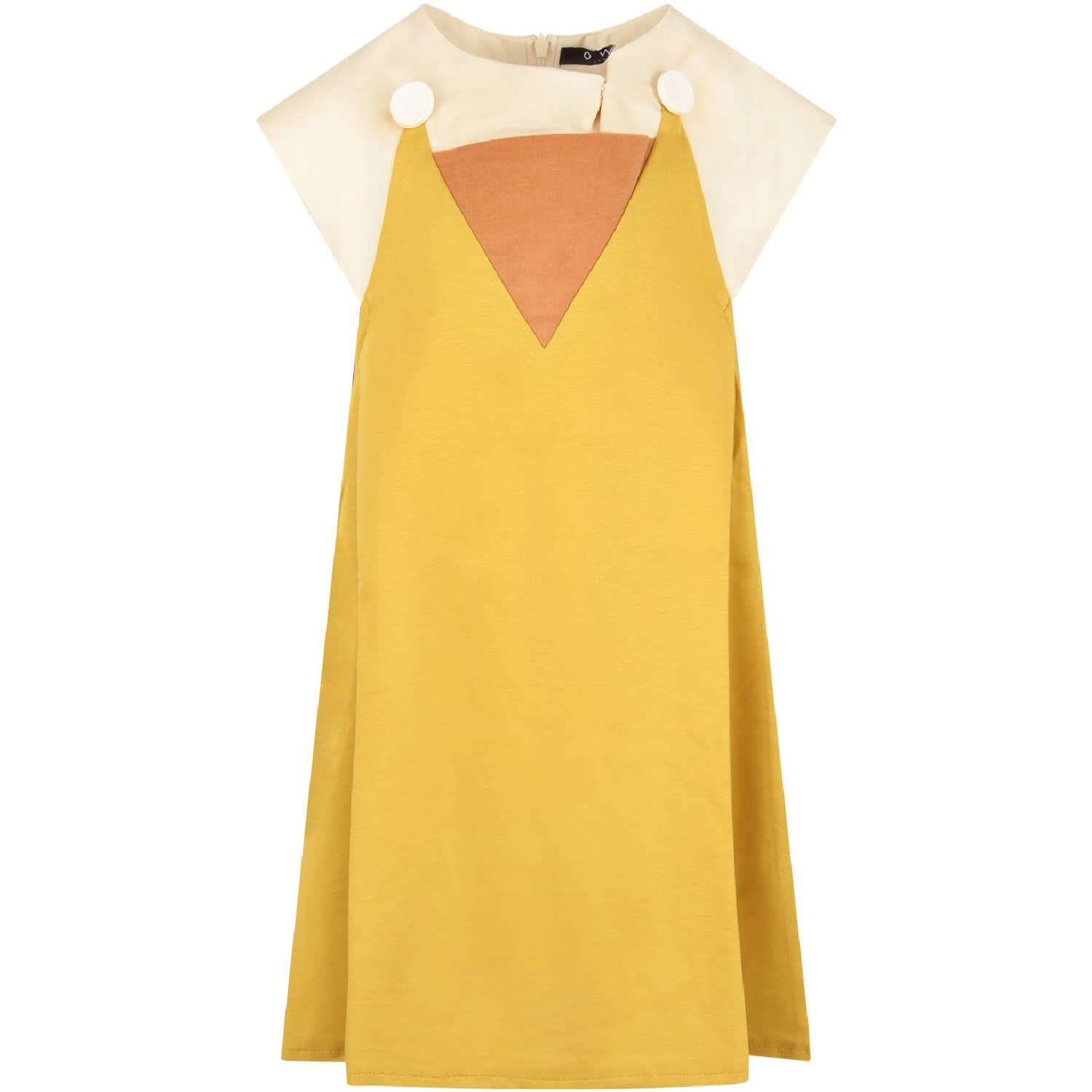 Owa Yurika Color Block tilly Girl Dress