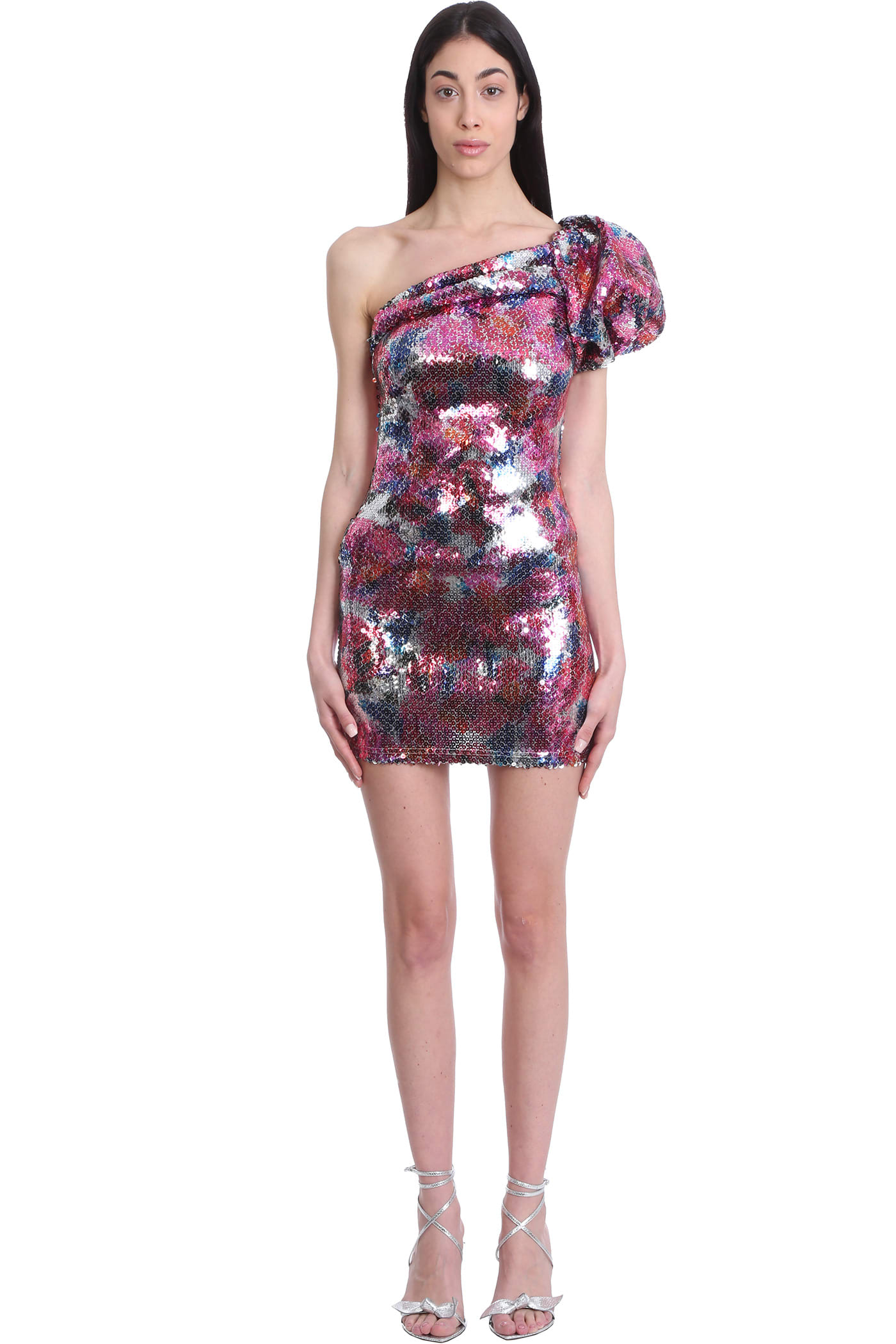 Buy Isabel Marant Osira Dress In Multicolor Polyester online, shop Isabel Marant with free shipping