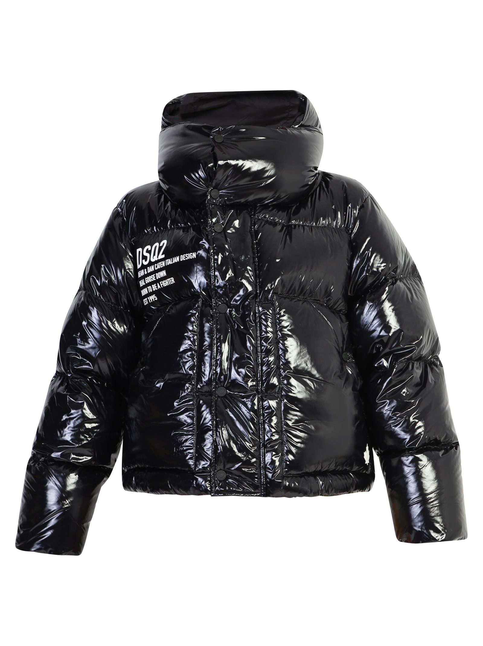 Dsquared2 Cropped Padded Jacket
