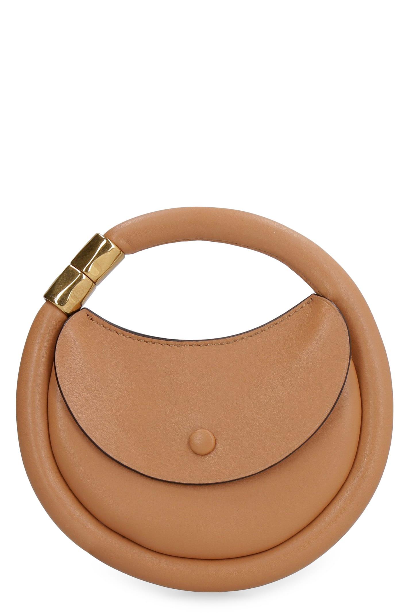 Disc Leather Purse