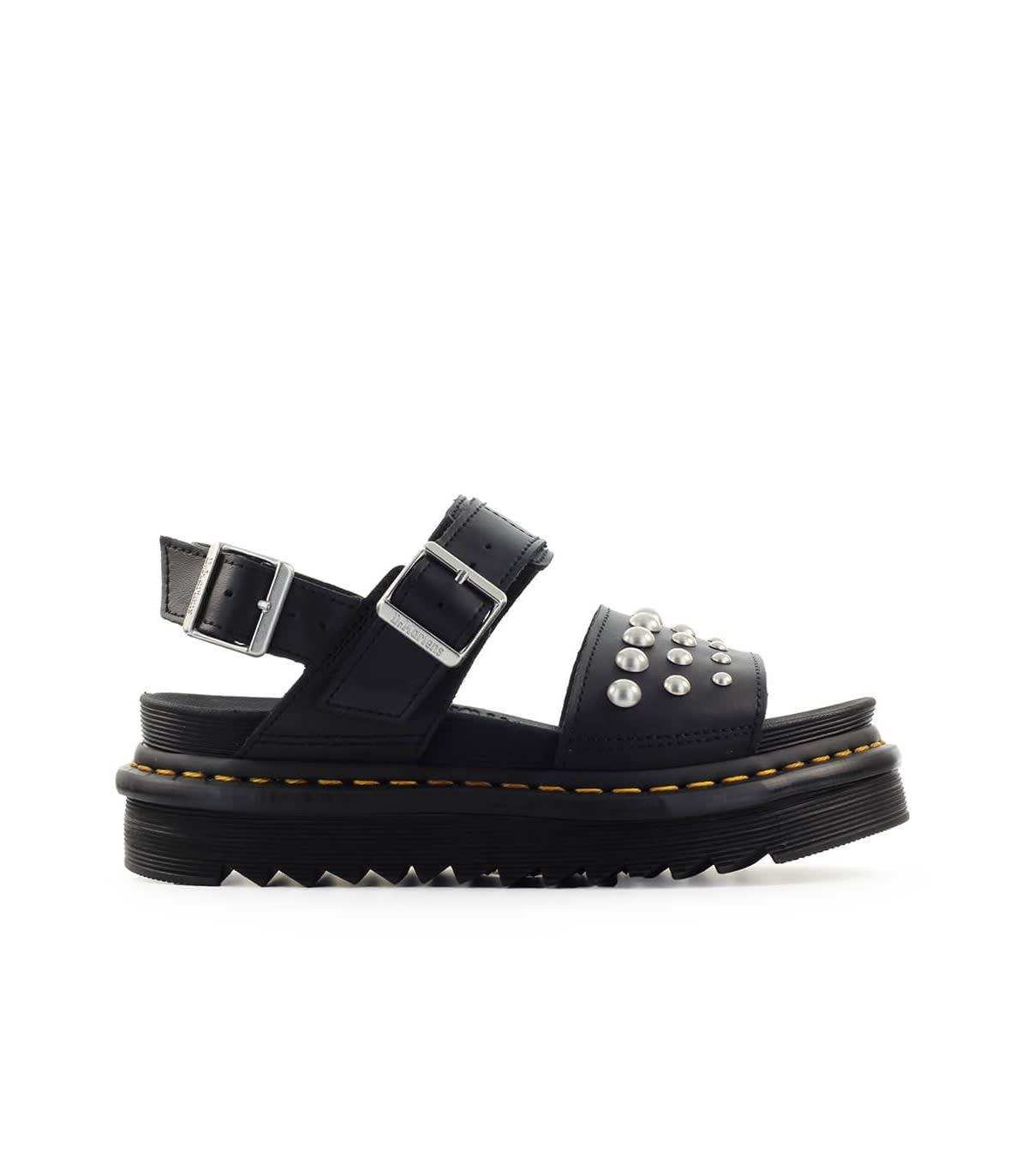 Studs Voss Black Sandal