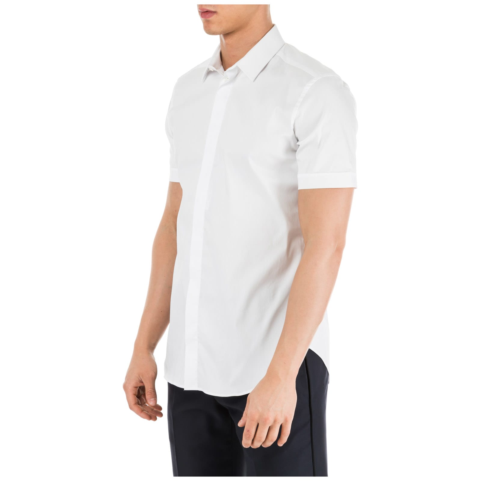 separation shoes 1a22a fd790 Best price on the market at italist | Emporio Armani Emporio Armani  Herrenhemd Kurzarmhemd Herren T-shirt Slim Fit