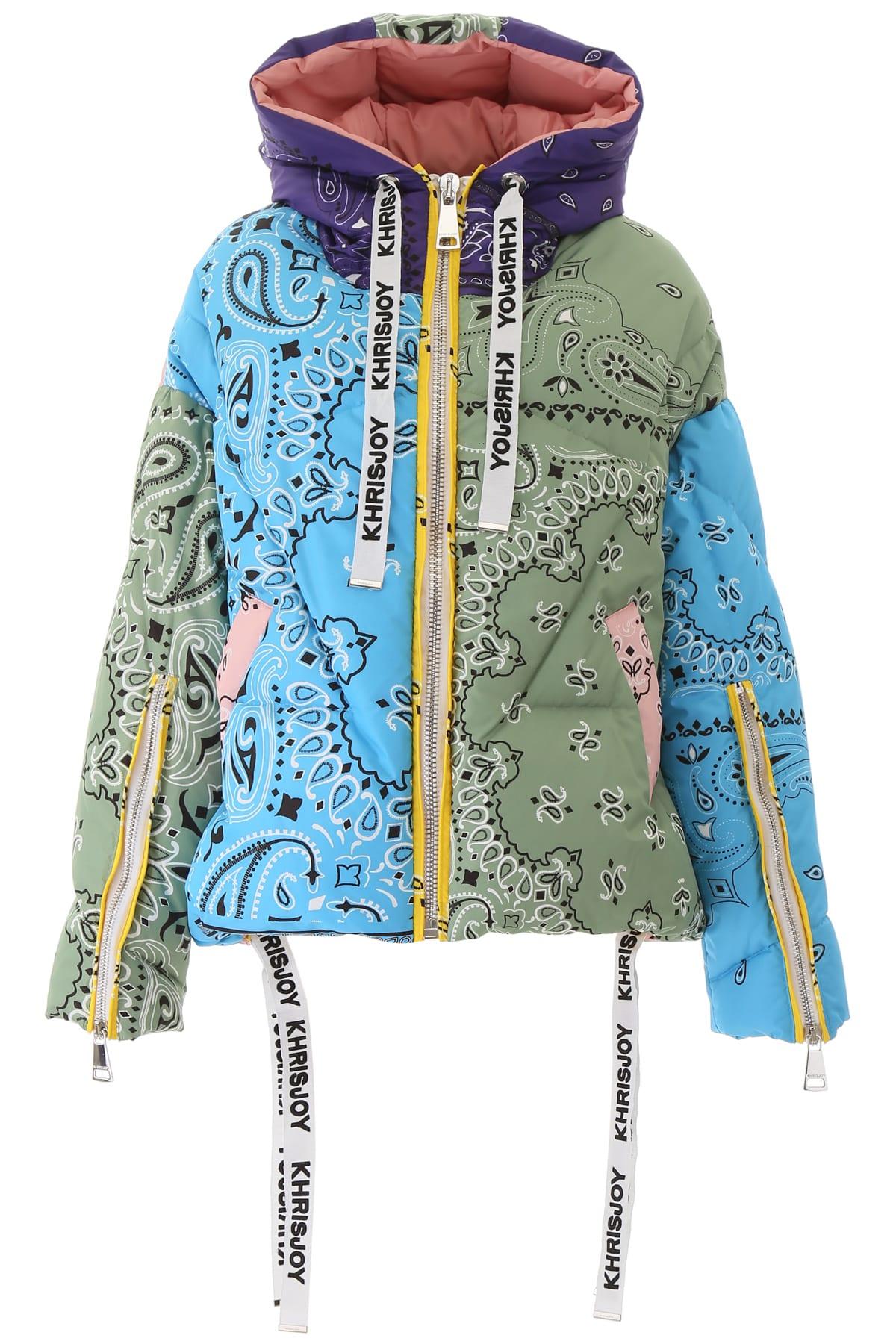 Khrisjoy Bandana Khris Puffer Jacket