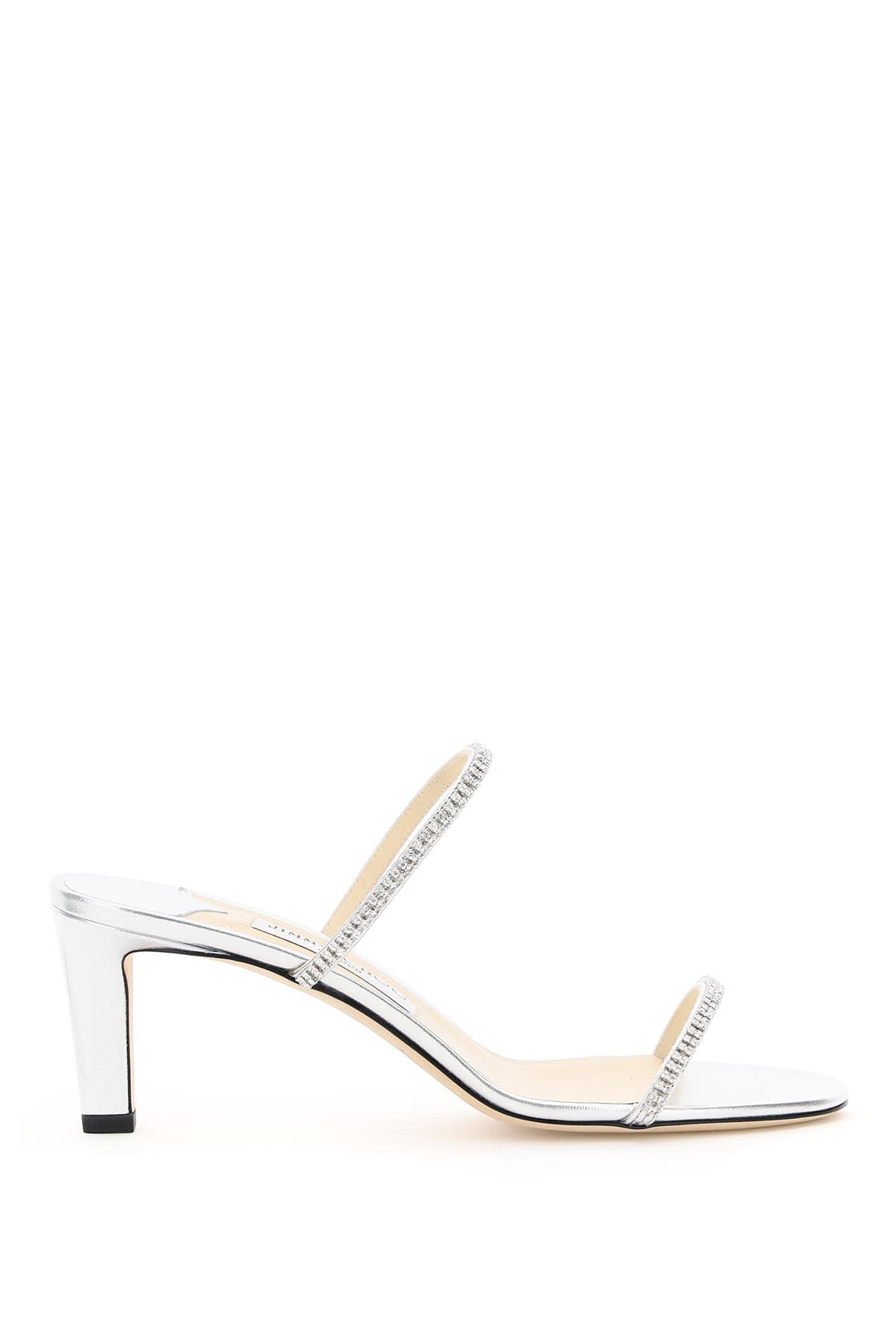 Jimmy Choo BREA MULES 65 WITH CRYSTALS