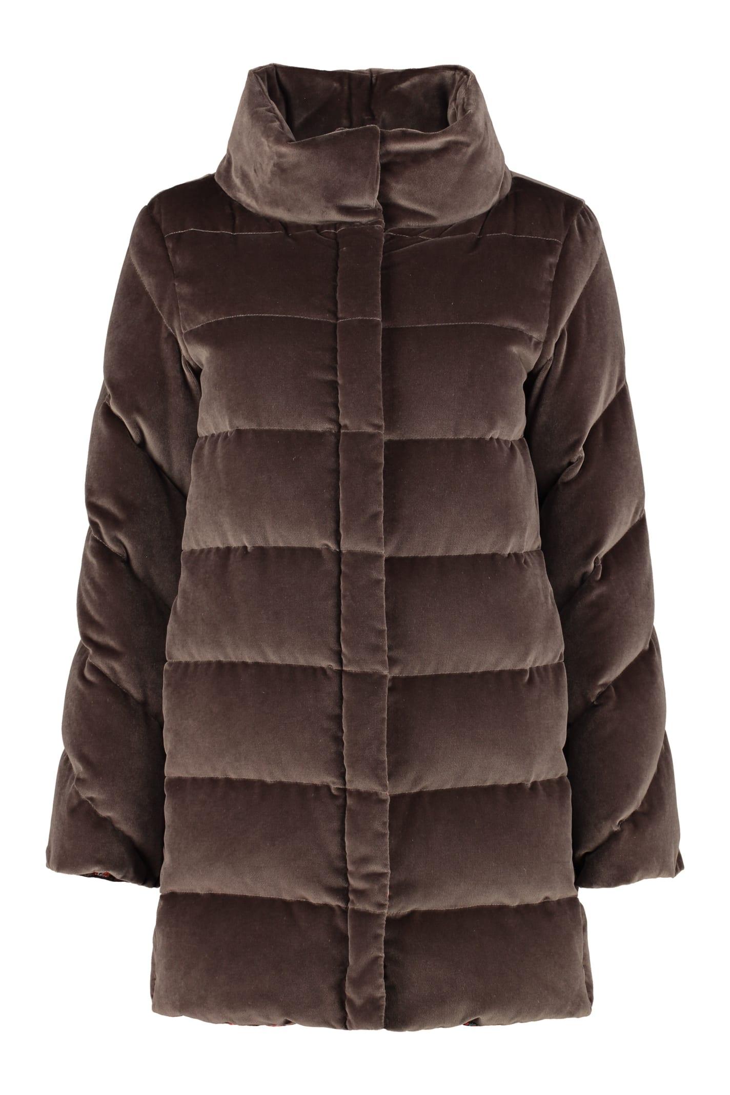 Etro Velvet Down Jacket