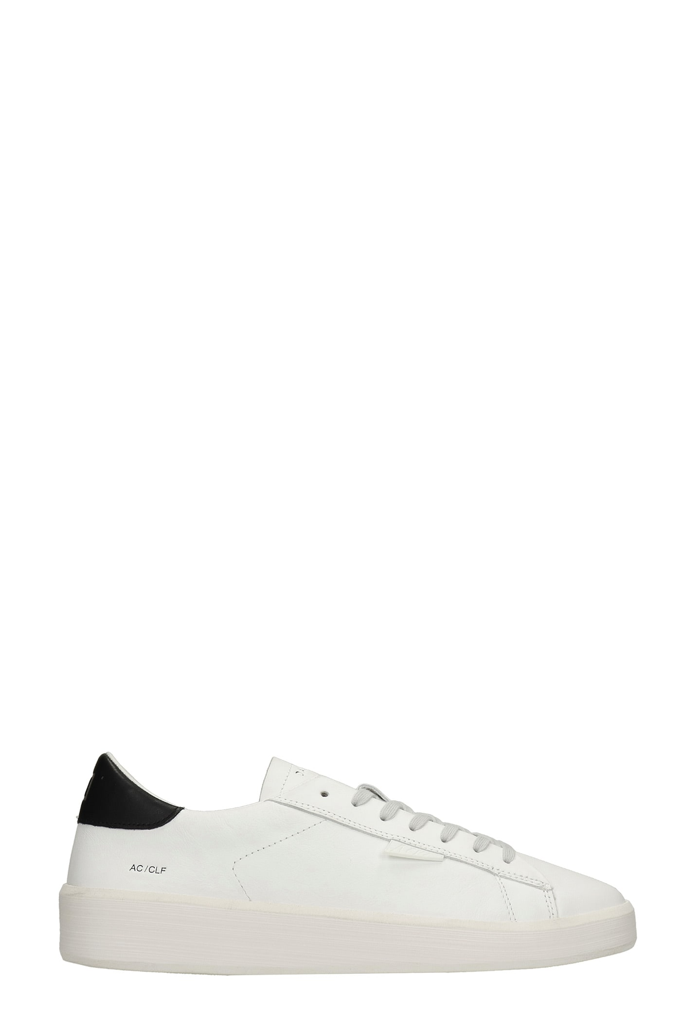 Ace Sneakers In White Leather