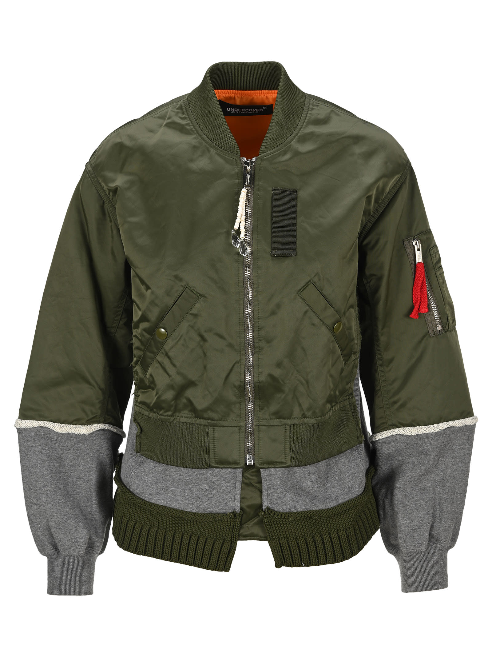 Undercover UNDERCOVER LAYERED BOMBER JACKET