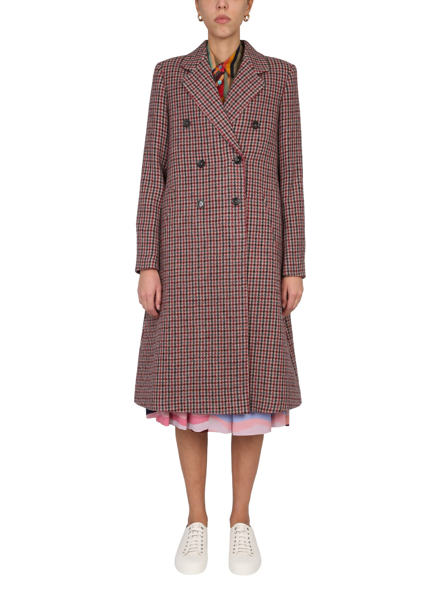 Ps By Paul Smith Coats DOUBLE-BREASTED COAT