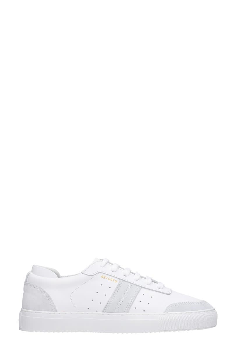 Axel Arigato Dunk Sneakers In White Leather