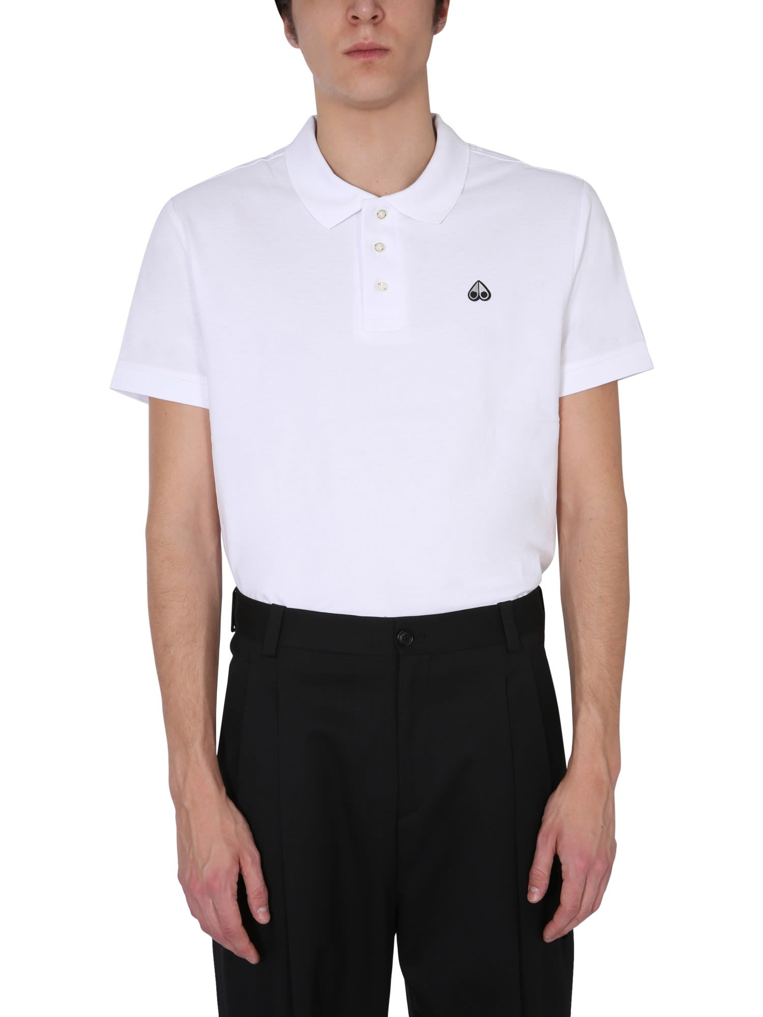 Moose Knuckles Cottons REGULAR FIT POLO