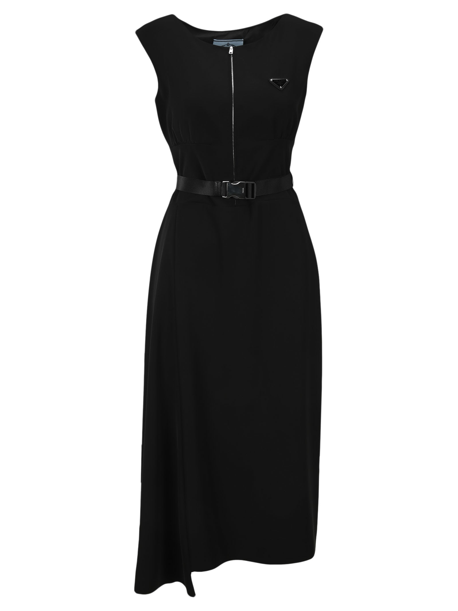 Buy Prada Belted Dress online, shop Prada with free shipping