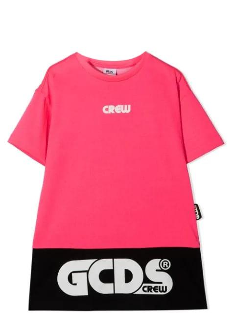 Buy GCDS Mini Dress Model T-shirt online, shop GCDS Mini with free shipping