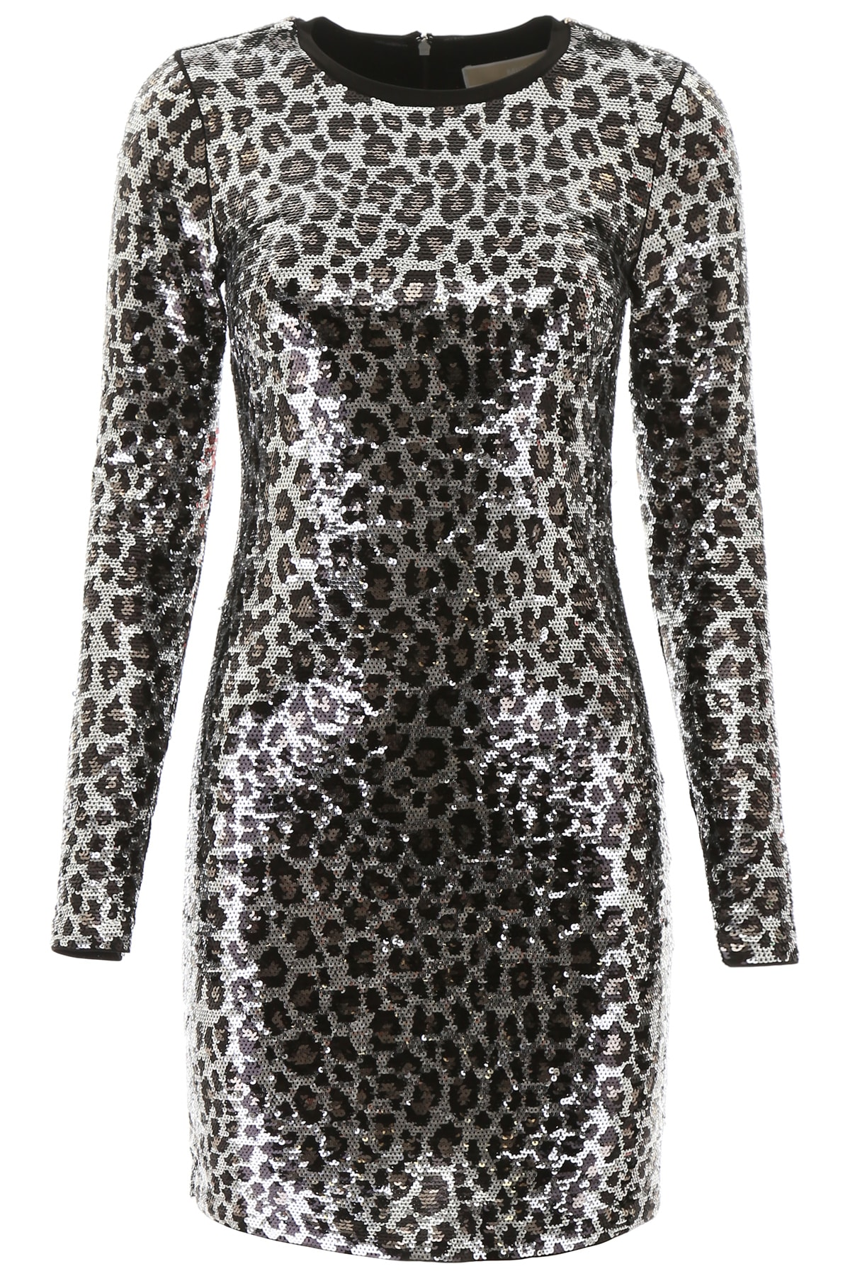 MICHAEL Michael Kors Animalier Sequins Mini Dress