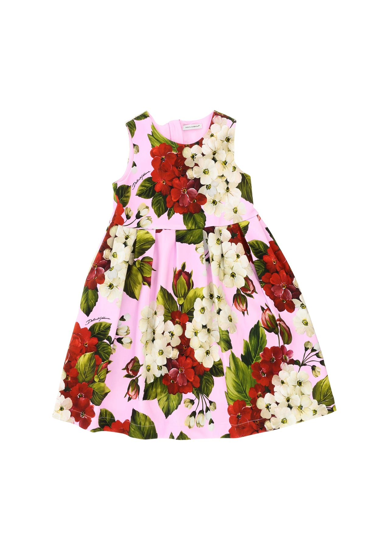 Buy Dolce & Gabbana Dress With Floral Print online, shop Dolce & Gabbana with free shipping