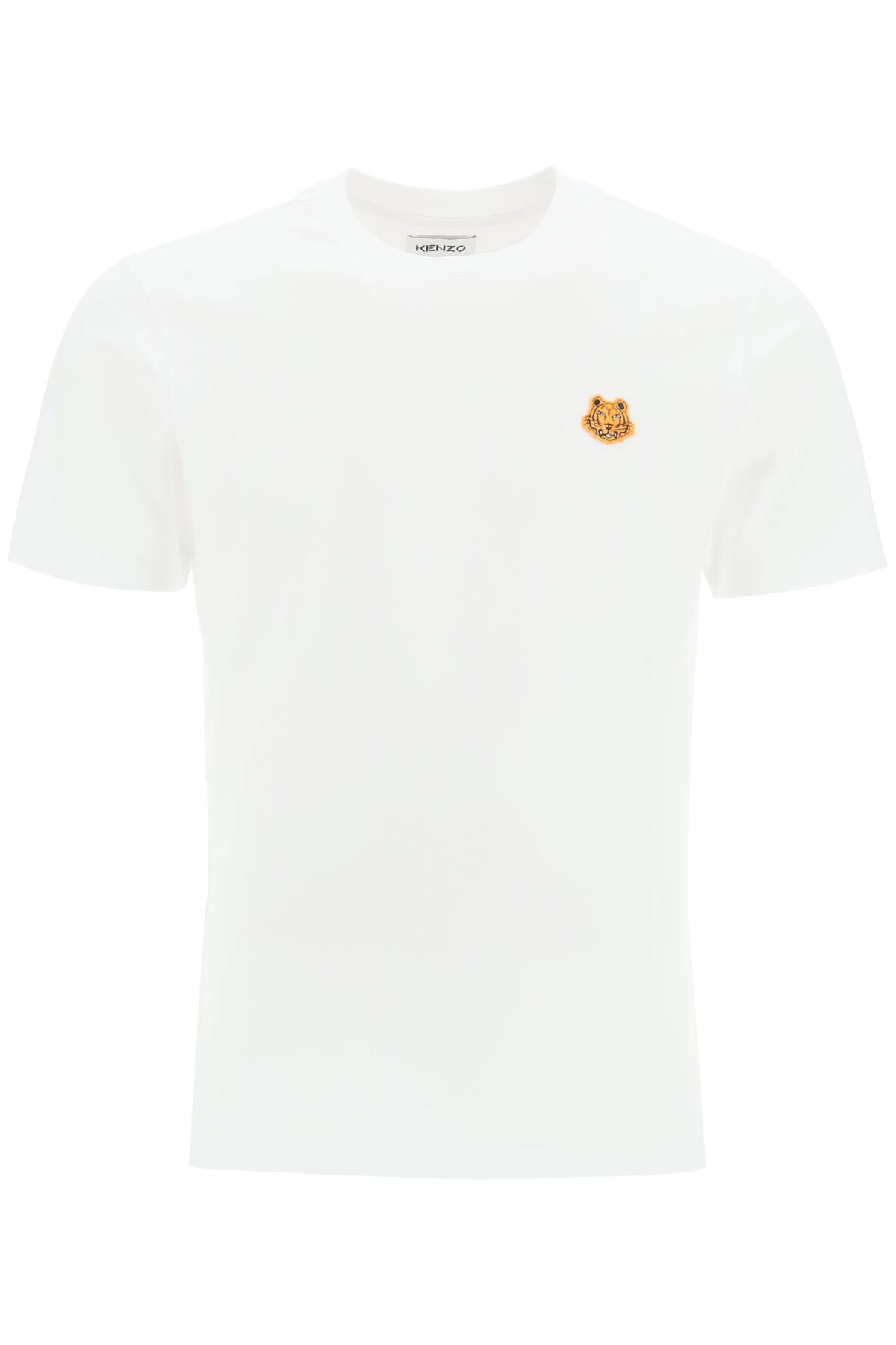 Kenzo T-SHIRT WITH TIGER PATCH