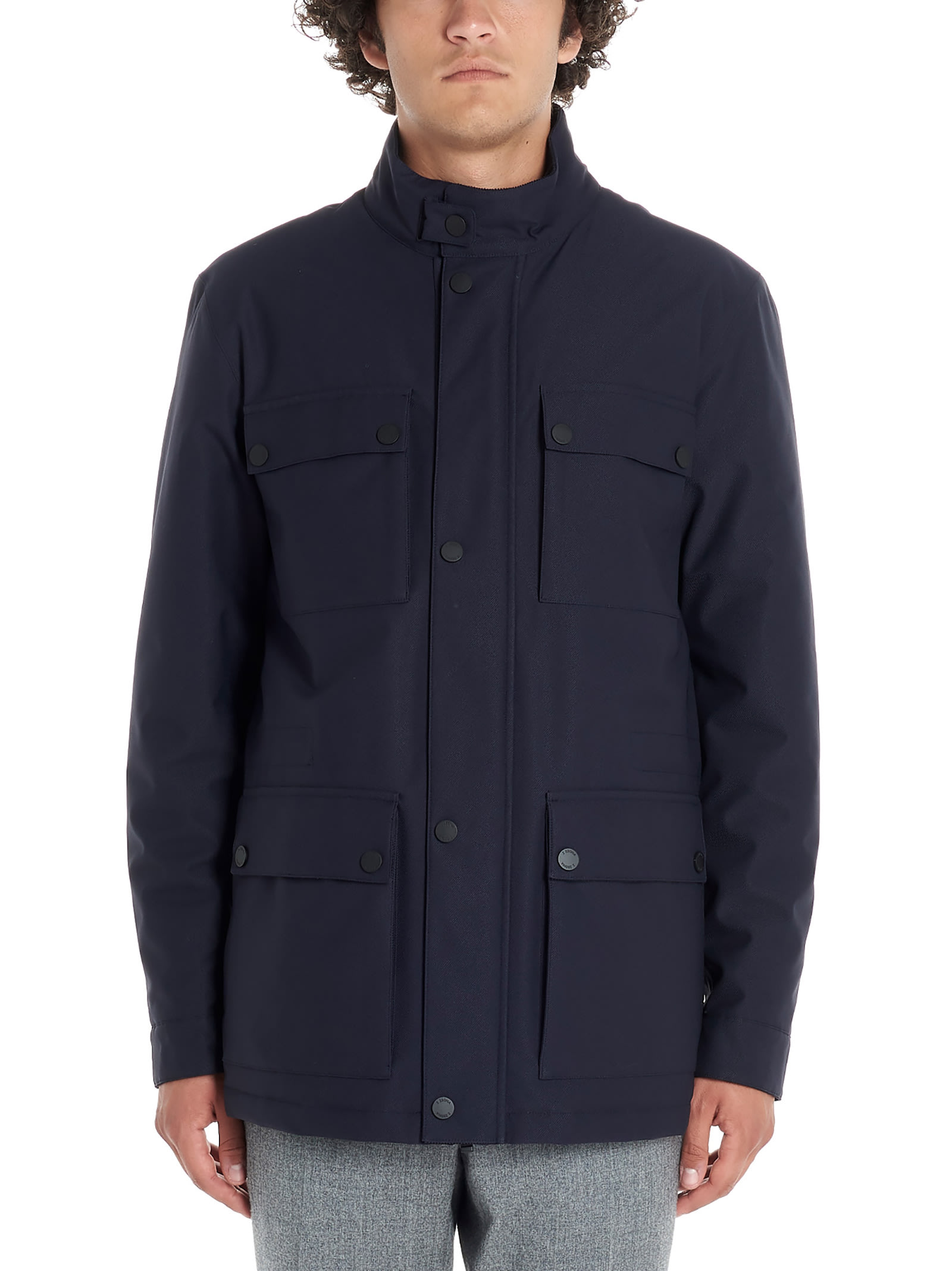 2b96300e Z Zegna 'field' Jacket