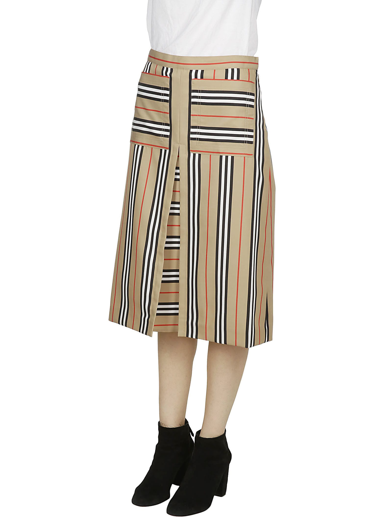 Animated Skirt burberry burberry animated skirt - archive beige - 11047926