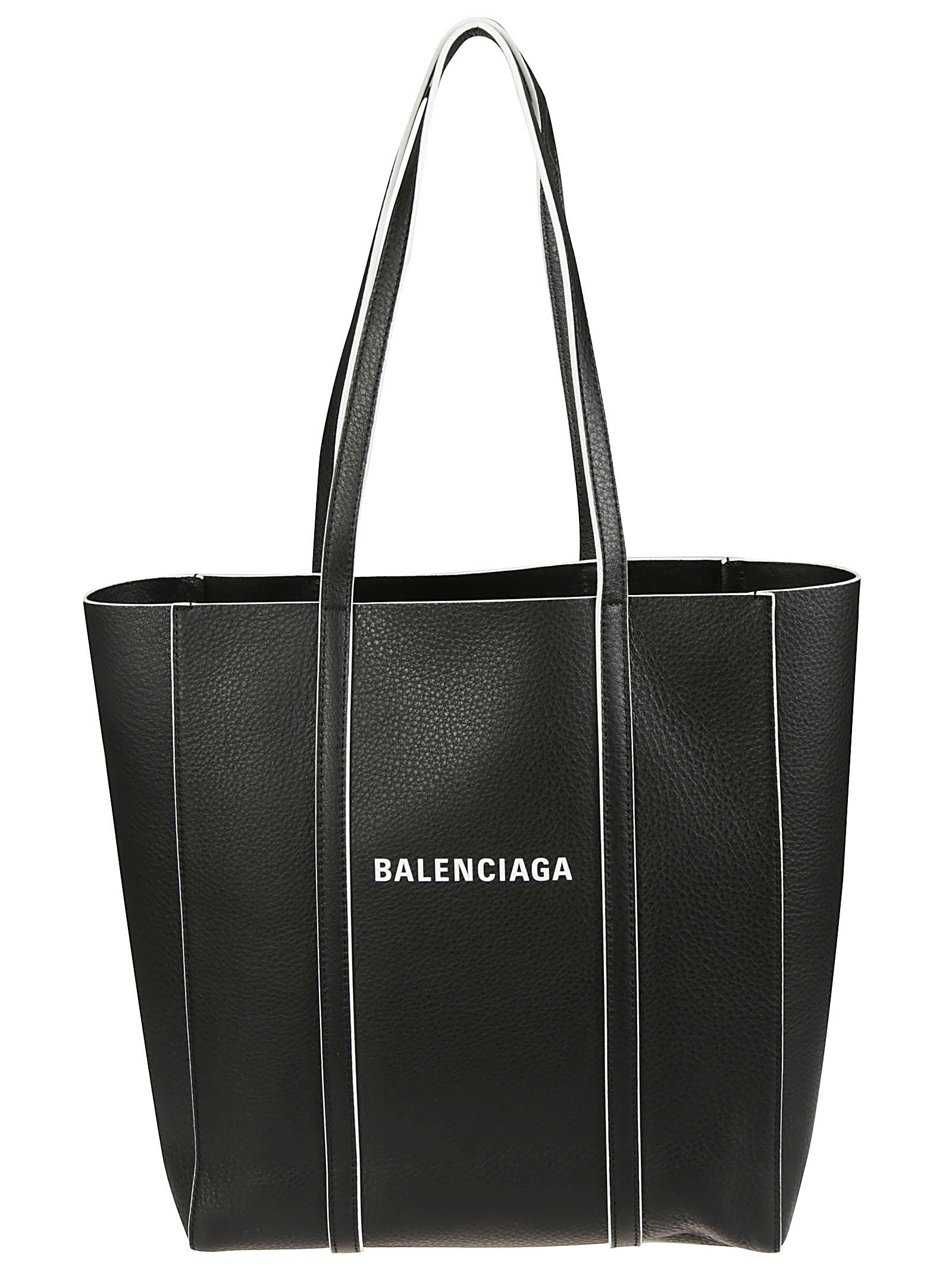 Balenciaga Everyday Tote In Black/white