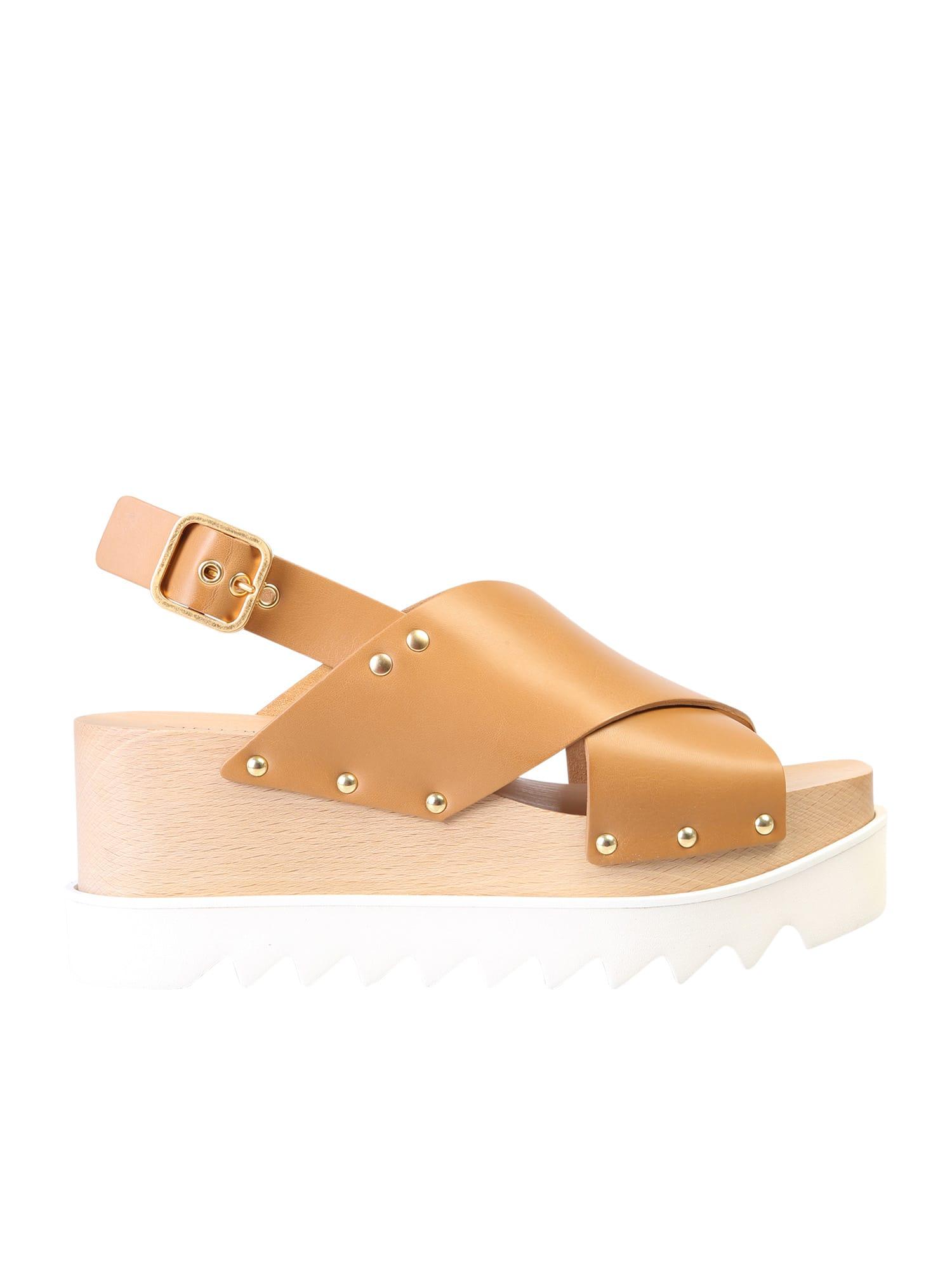 Buy Stella McCartney Elyse Sandals online, shop Stella McCartney shoes with free shipping