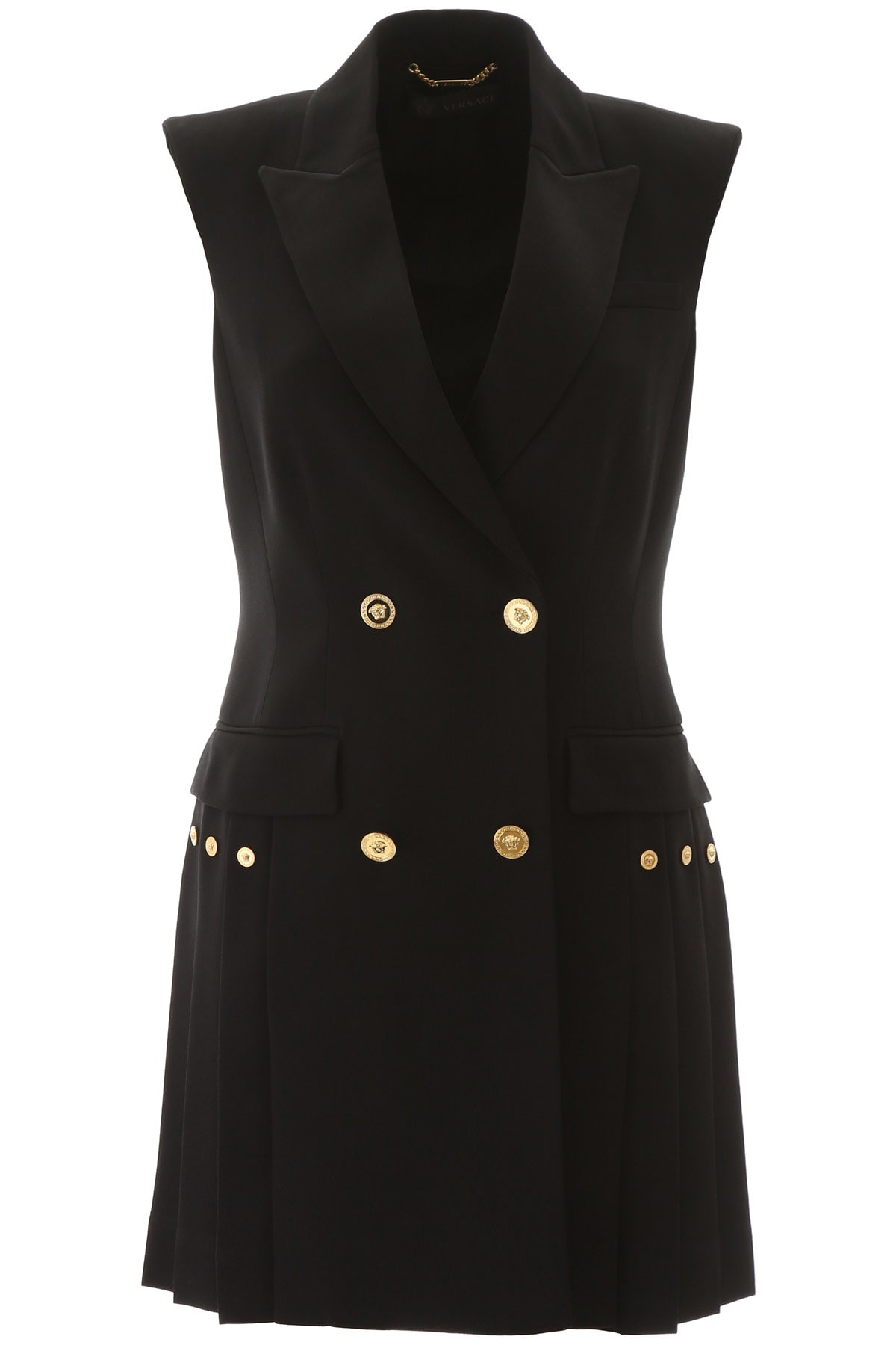 Buy Versace Tailoring Mini Dress online, shop Versace with free shipping