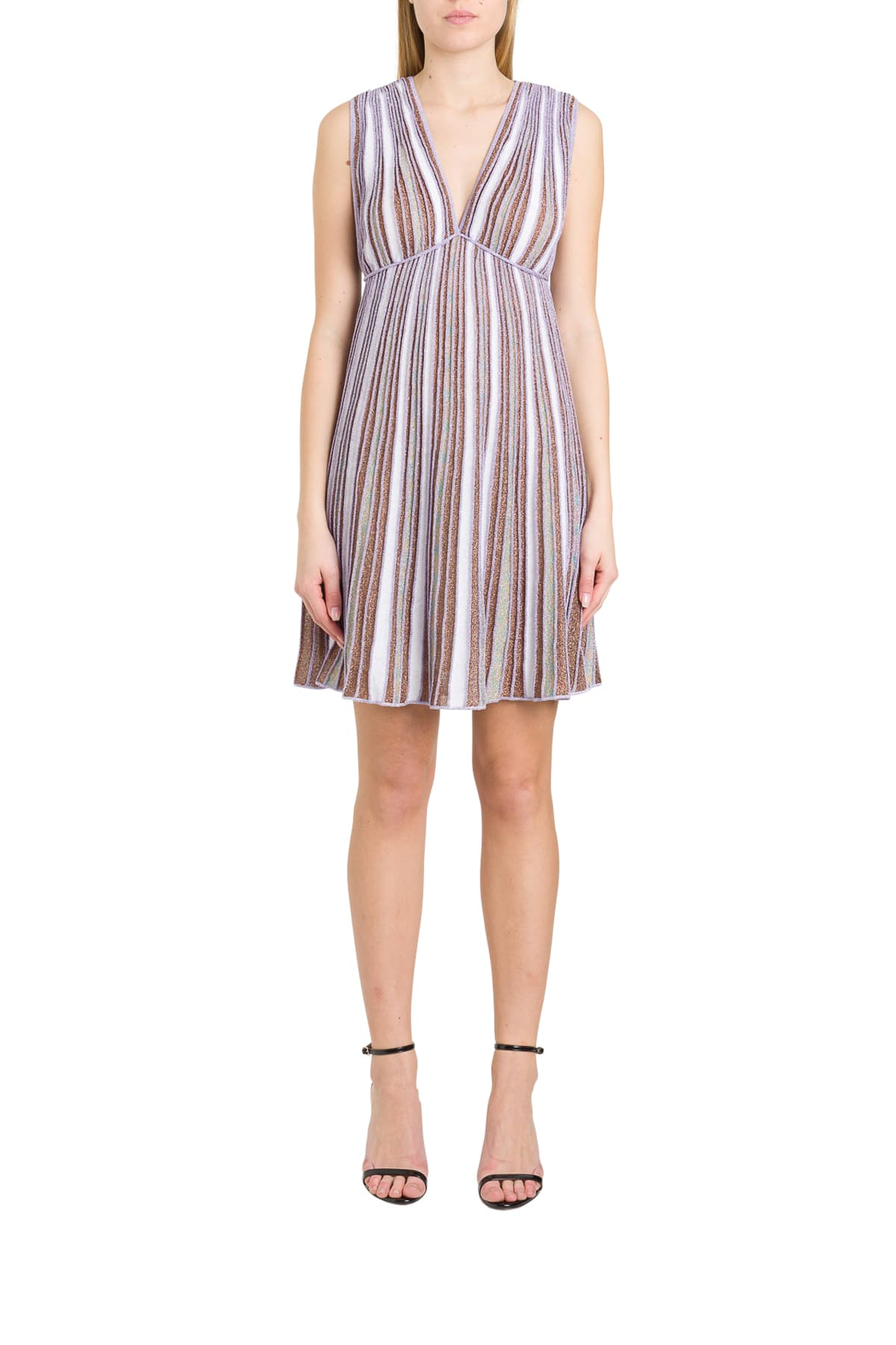 Buy M Missoni Ribbed Lurex Knit Dress With Empire Waist online, shop M Missoni with free shipping