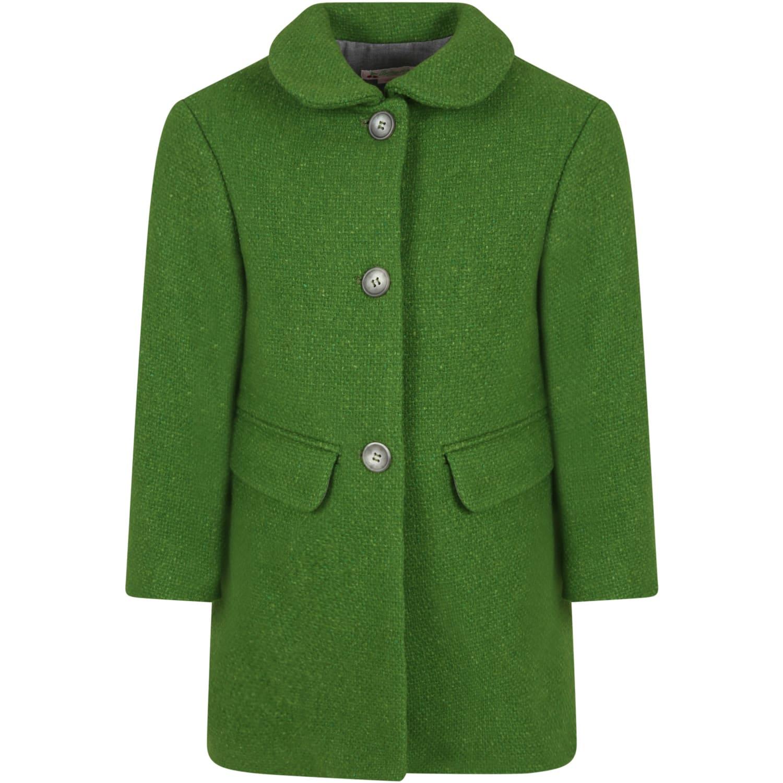 Green Coat For Girl