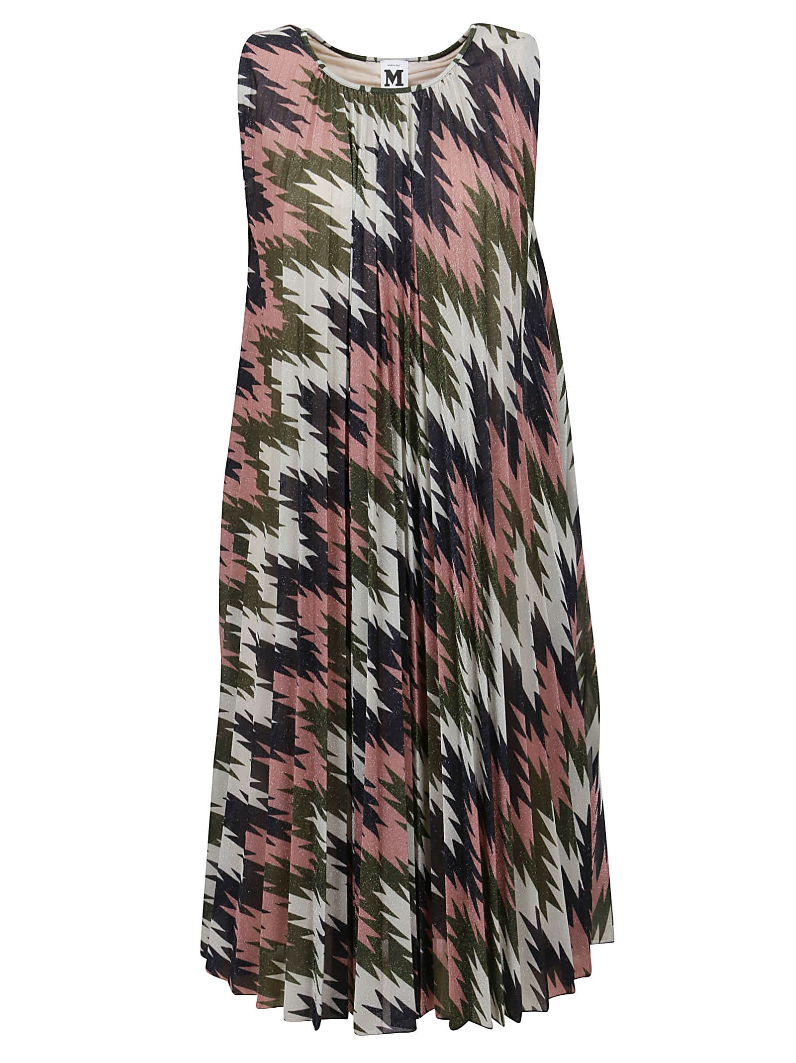 Patterned Lurex Dress