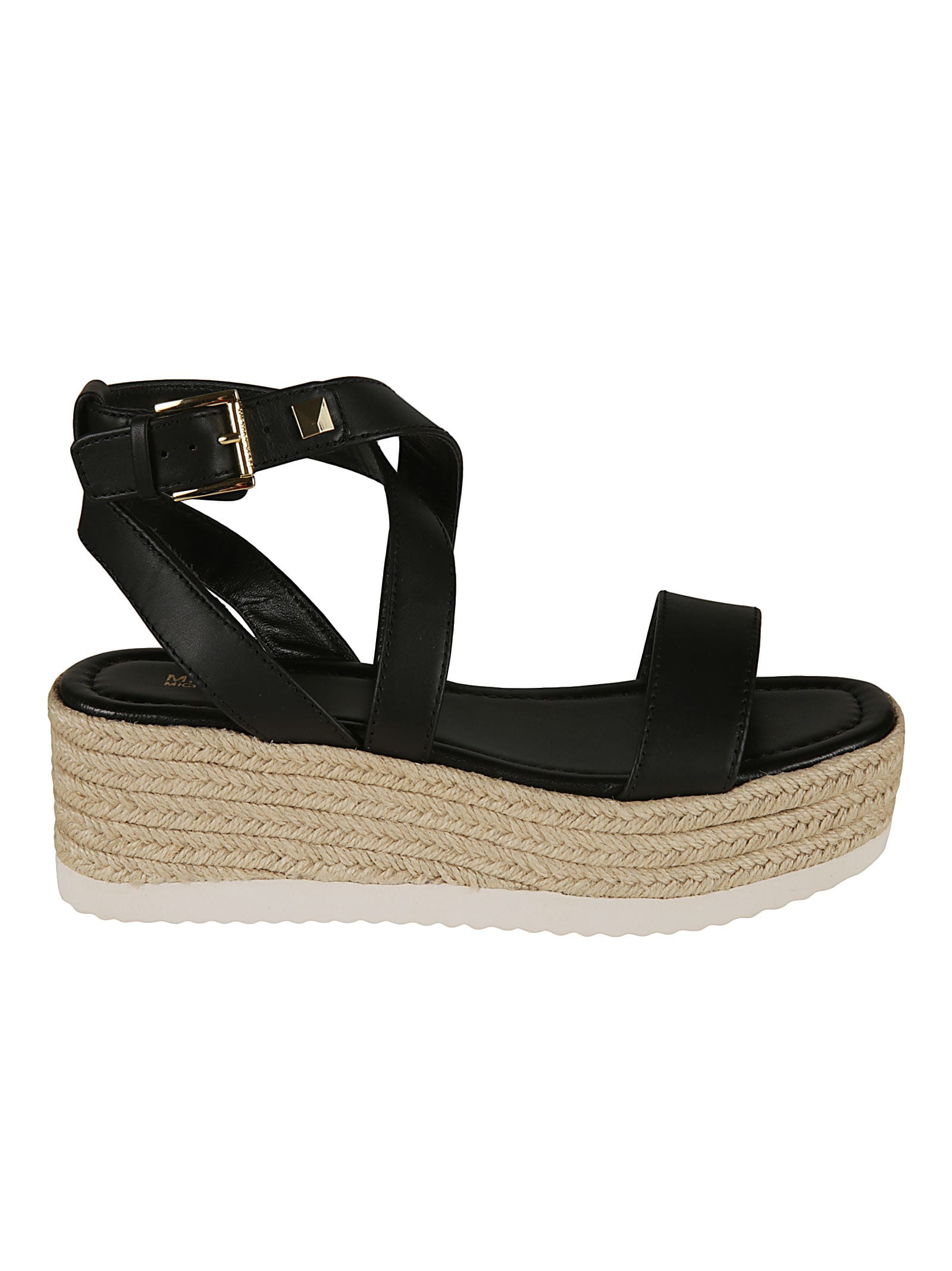 Michael Kors Leathers LOWRY WEDGE SANDALS