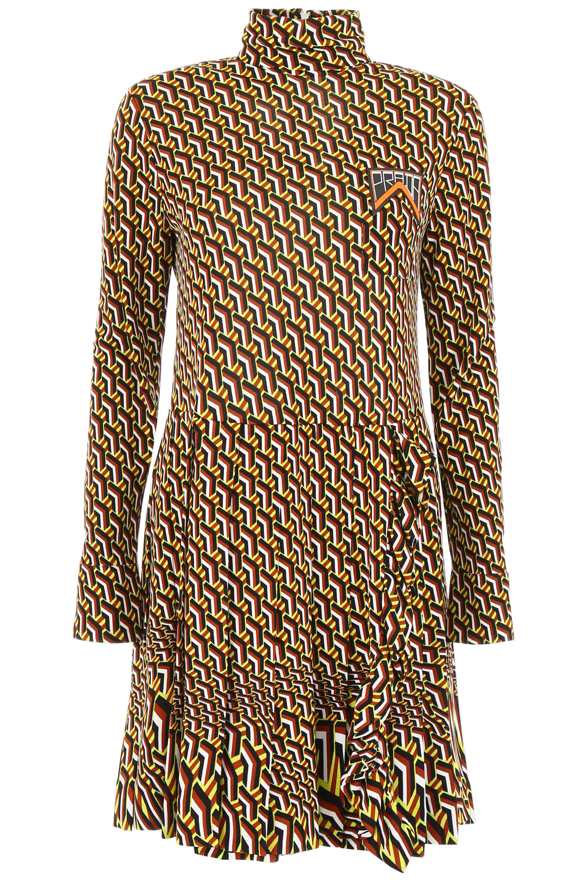 Prada Printed Jersey Dress