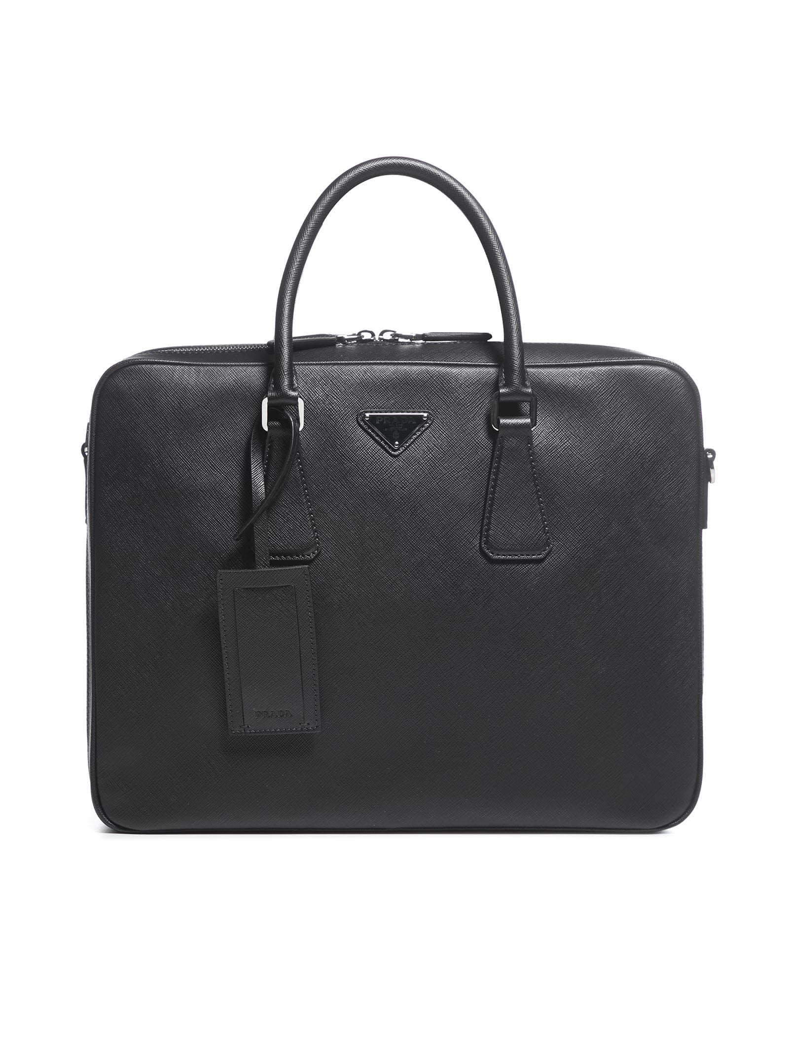 Prada Briefcase Tote
