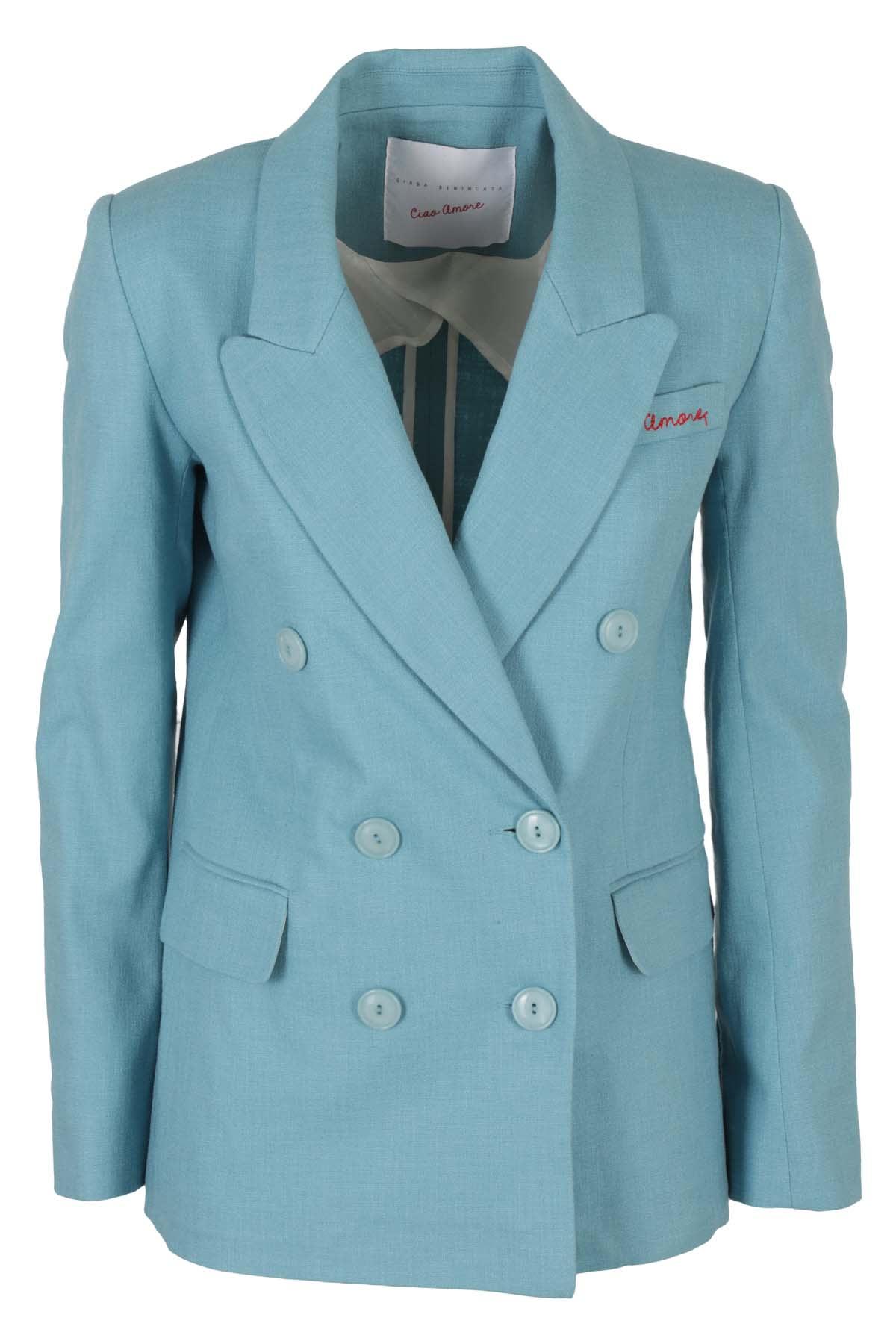 Photo of  Giada Benincasa Jacket- shop Giada Benincasa jackets online sales