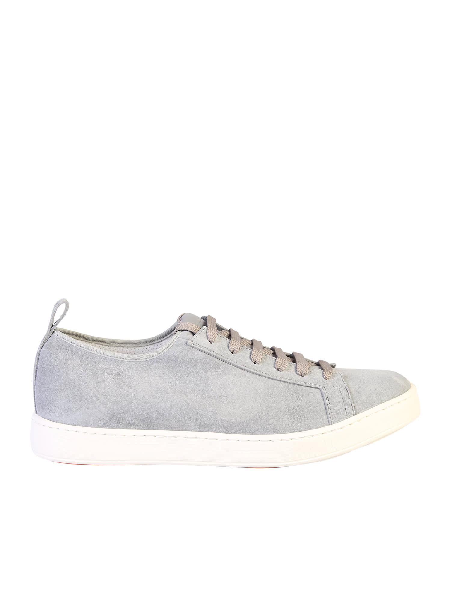 Santoni Lace Up Sneakers