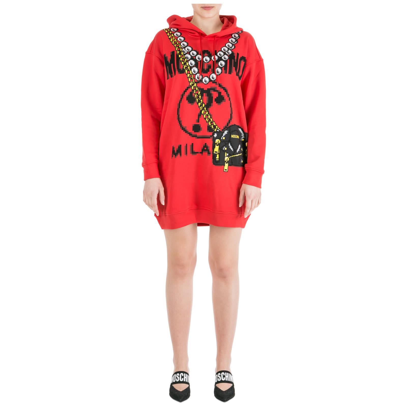 Moschino Sweatshirt Dress Pixel Capsule