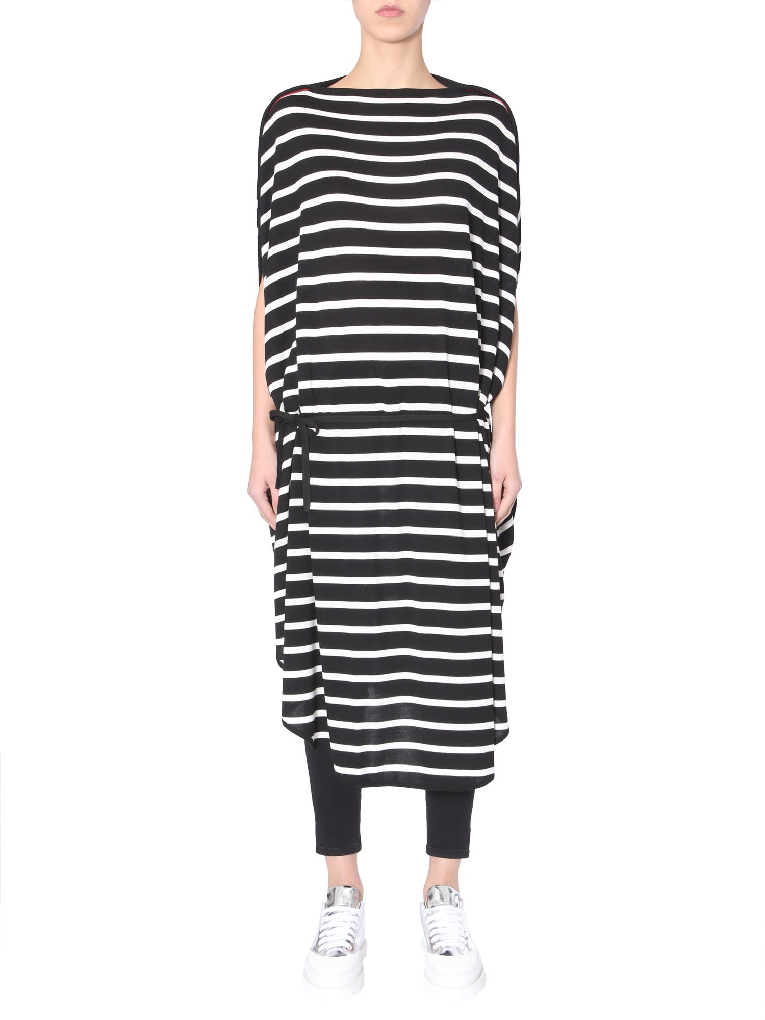 MM6 Maison Margiela Striped Midi Dress