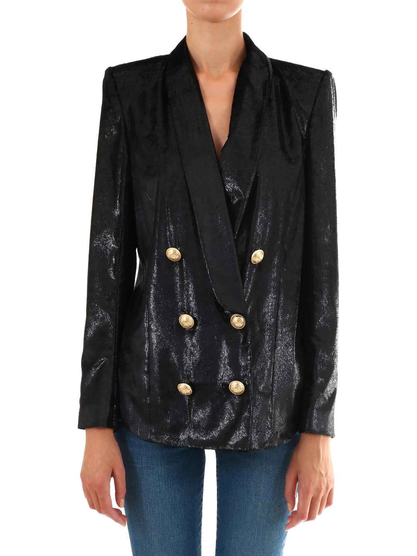 Balmain Bright Black Jacket