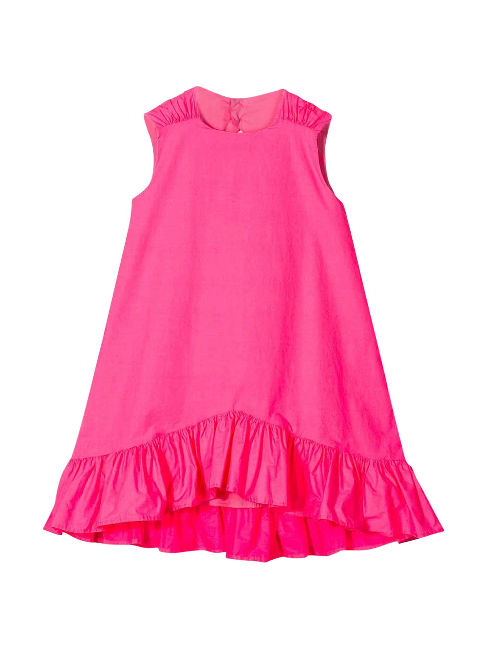 Buy MSGM Fuchsia Dress Teen online, shop MSGM with free shipping