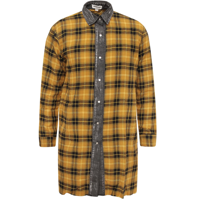 Buy Goganga Yellow Girl Dress With Check online, shop Goganga with free shipping