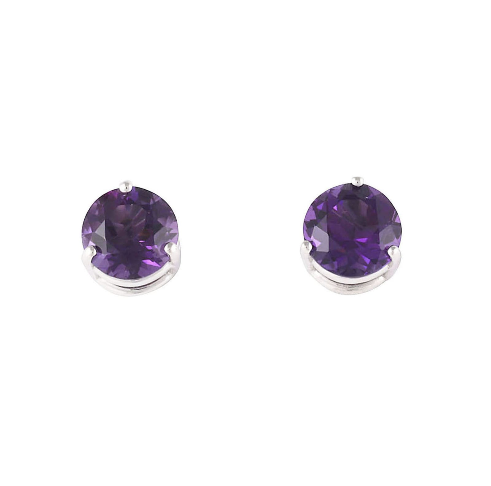 Lo Spazio Amethyst Earrings