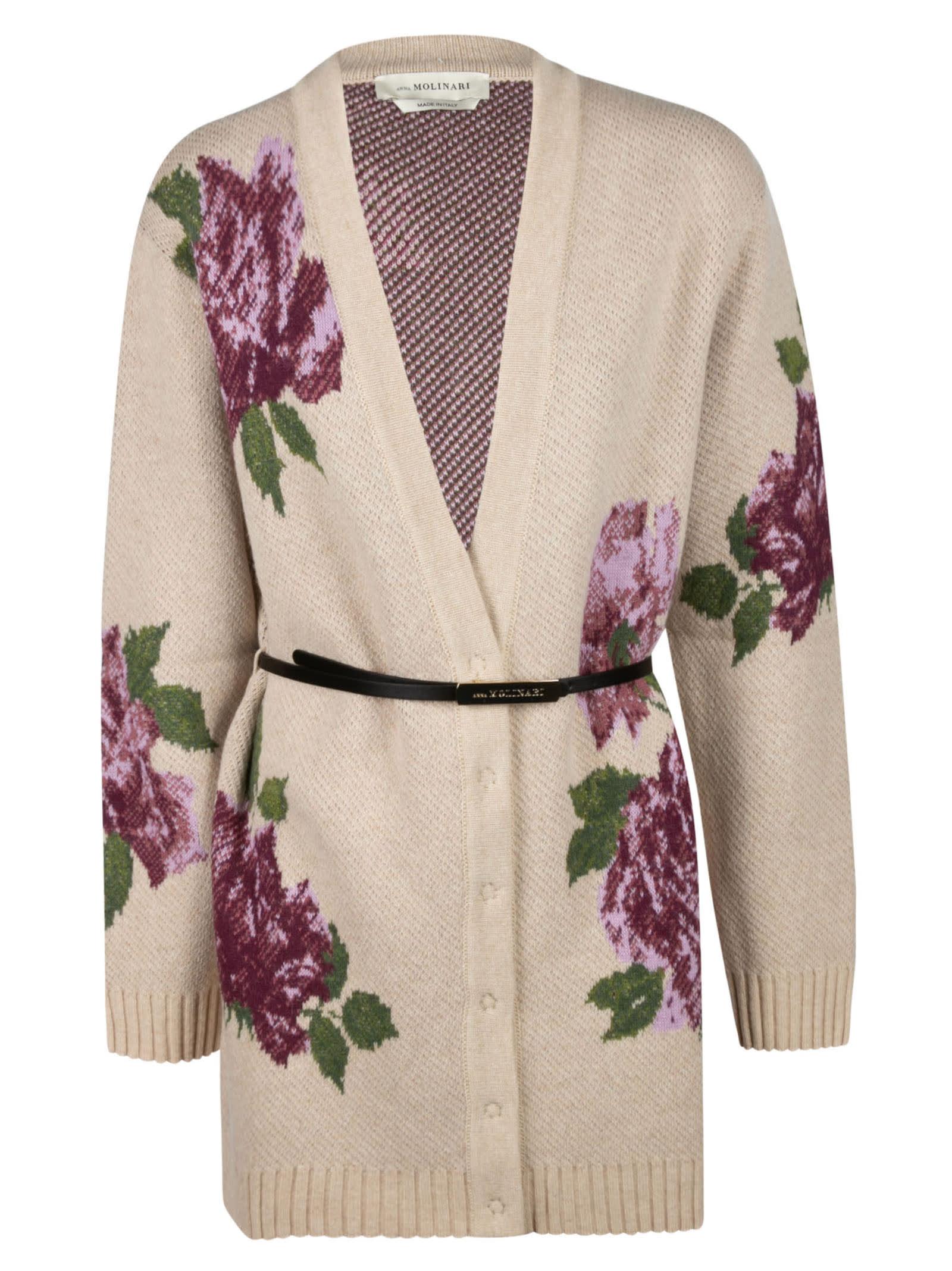 Floral Print Cardi-coat