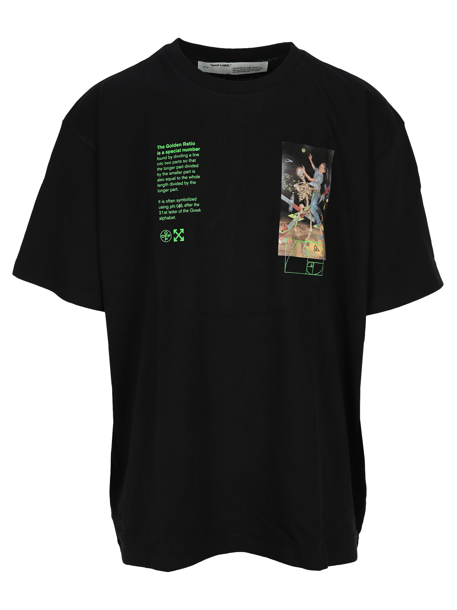 Off-White Tops OFF WHITE PASCAL PAINTING T-SHIRT
