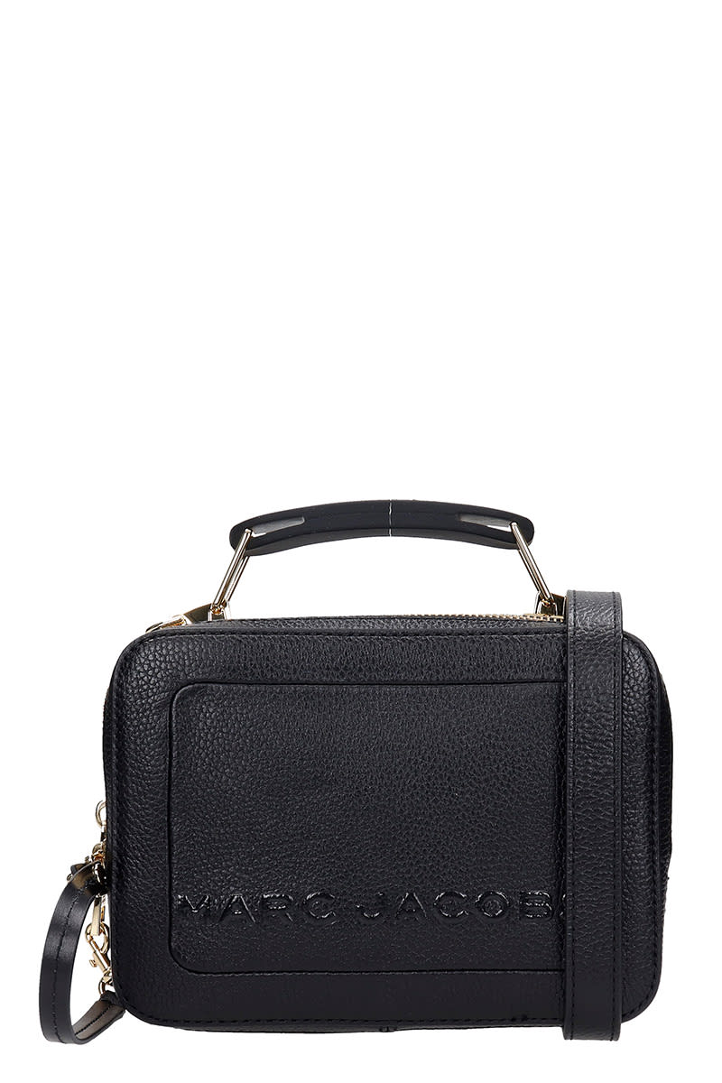 Marc Jacobs The Box 20 Hand Bag In Black Leather