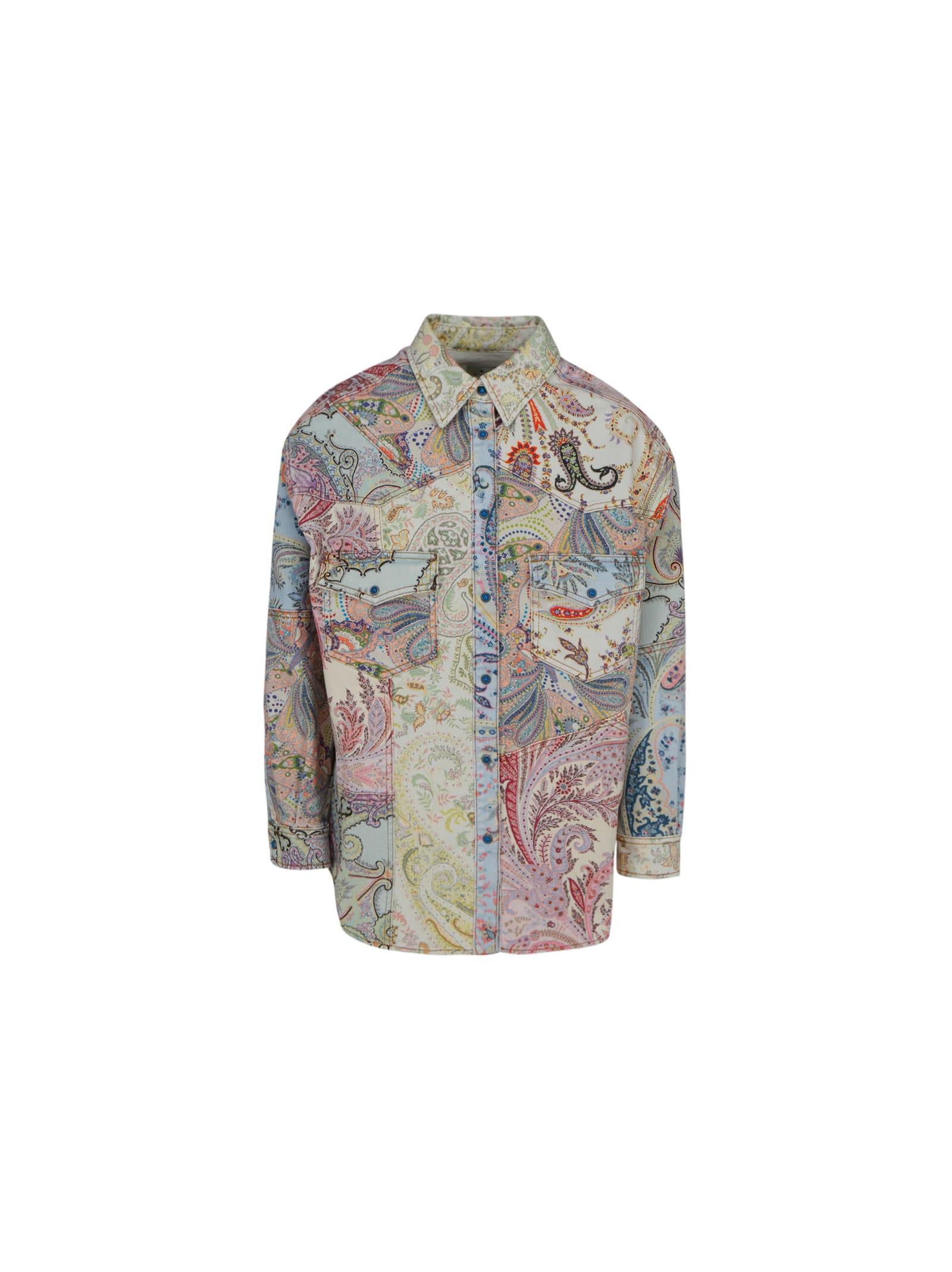 Etro Clothing DENIM JACKET