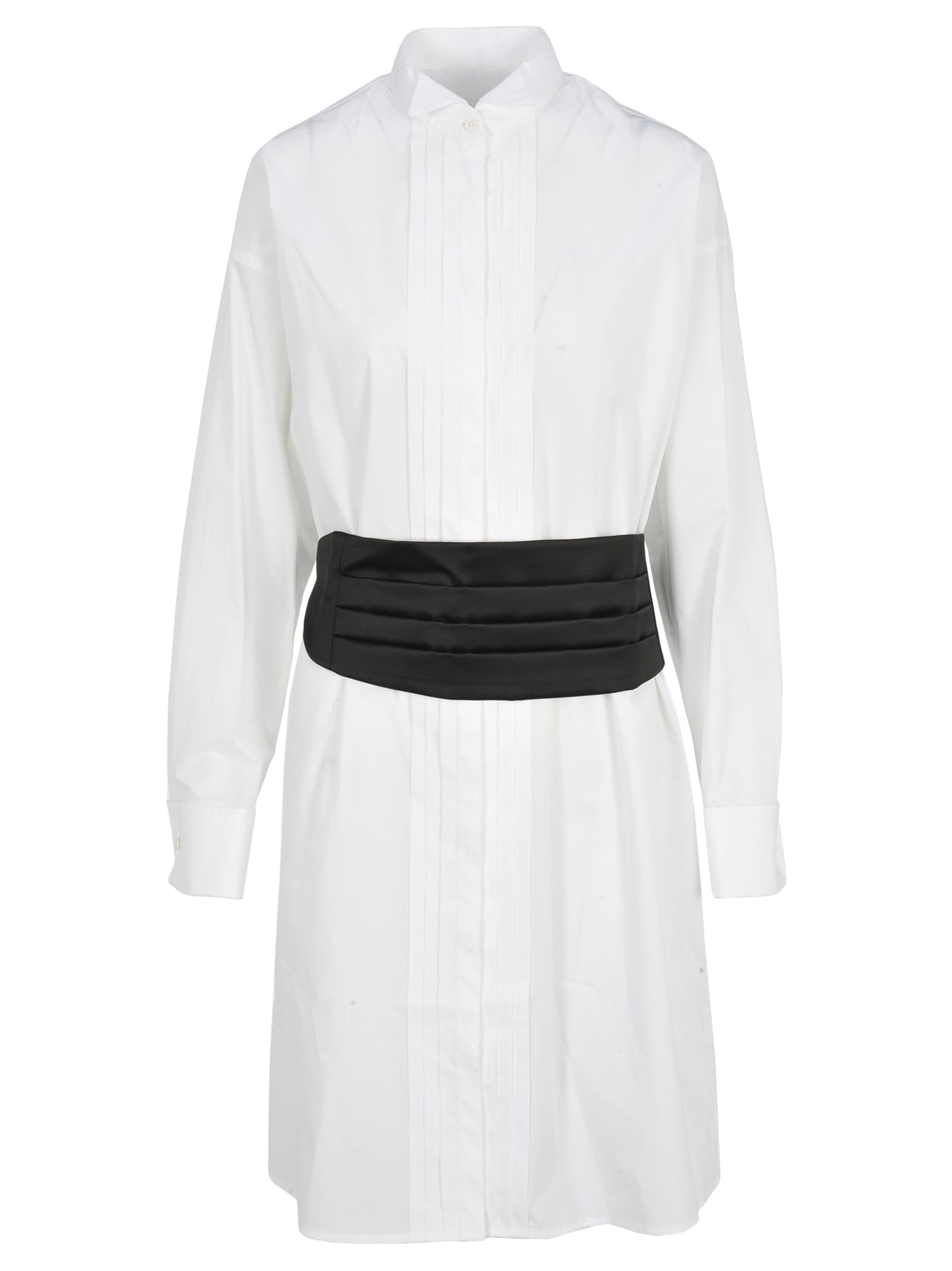 Mm6 Belted Chemisier Dress
